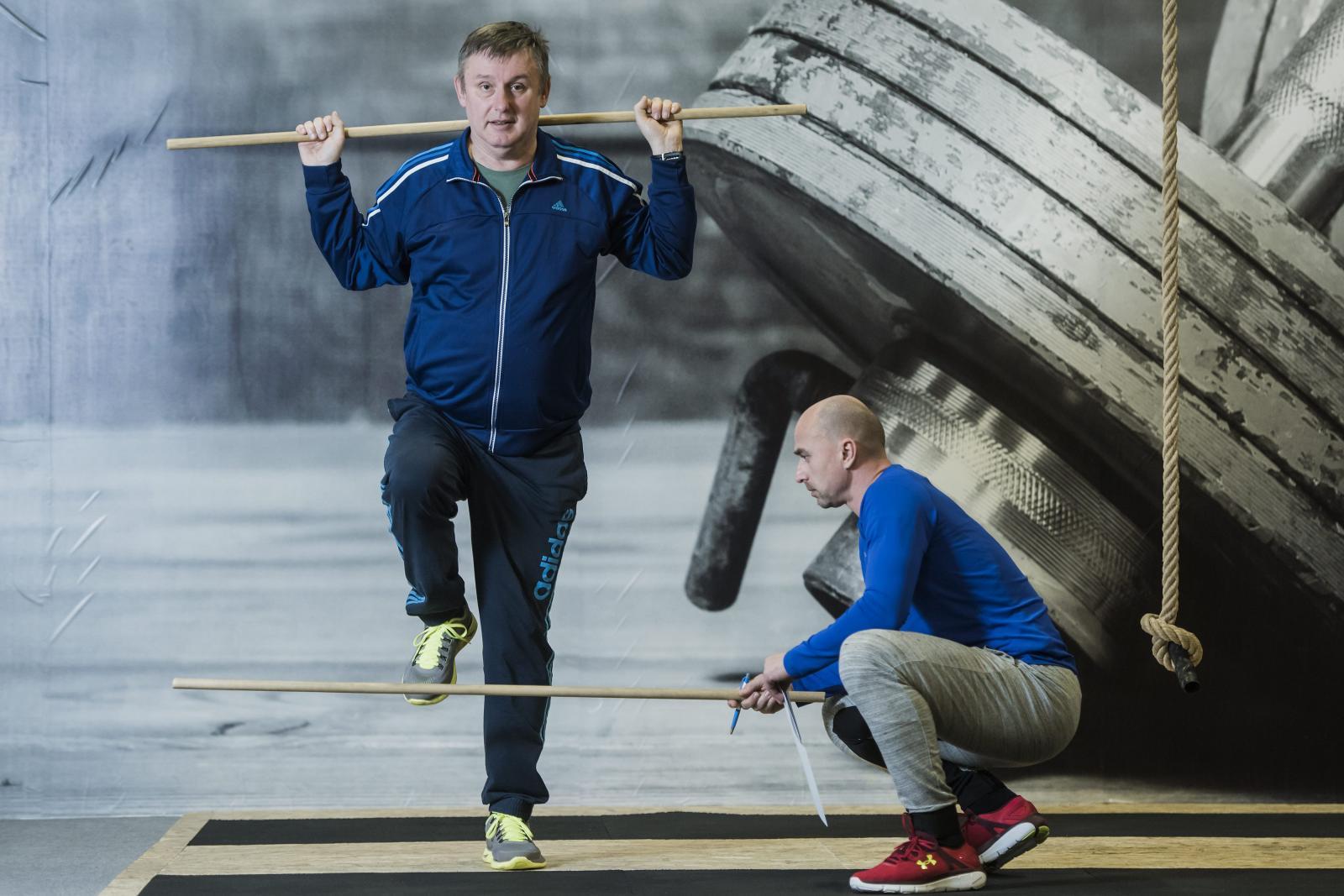 'U boljoj sam kondiciji, primjećujem da neke vježbe odrađujem lakše nego prethodnih mjeseci, od istezanja nogu do dizanja utega, veslanja na traci.'