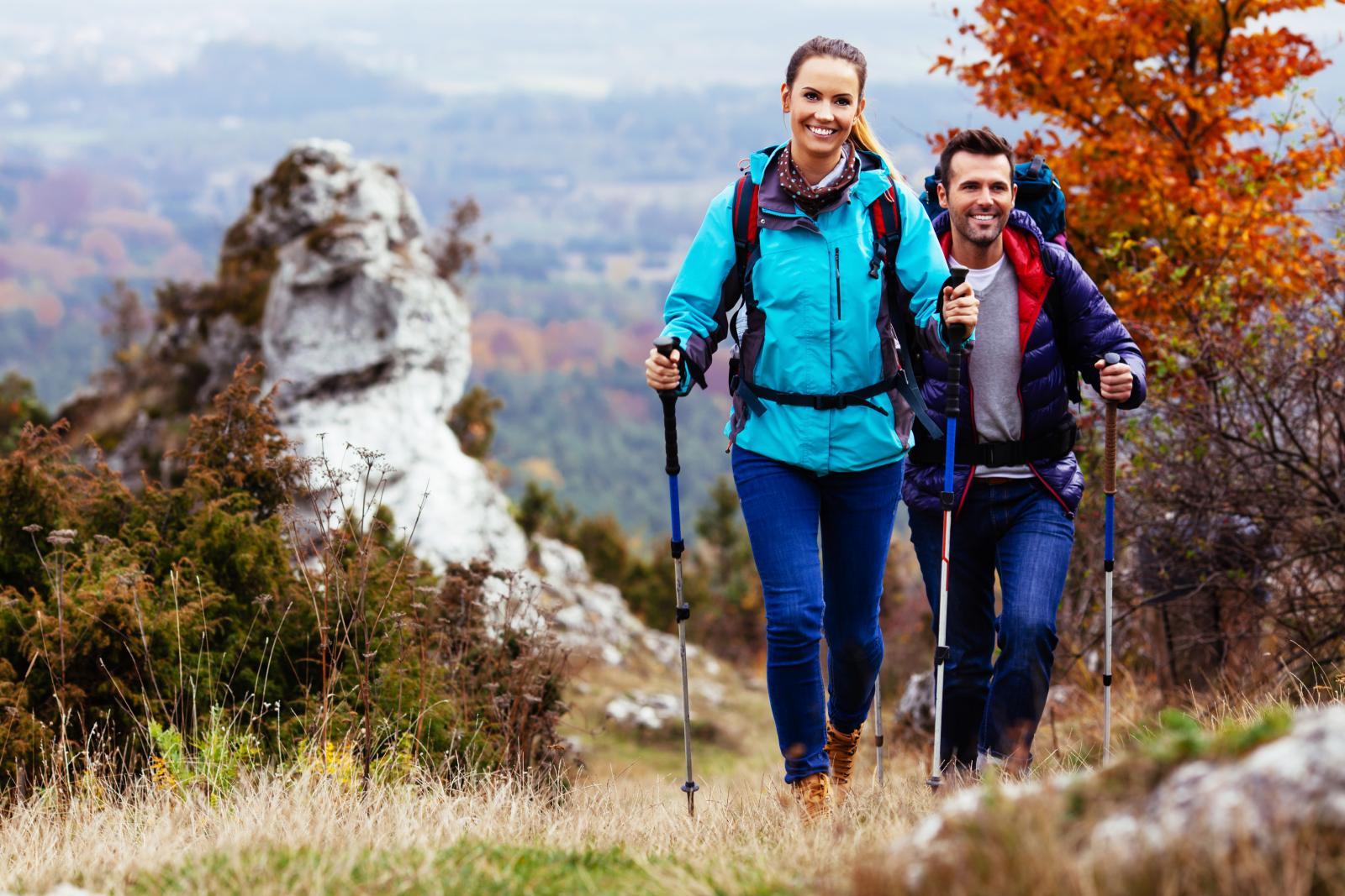 Hodanje može biti više ili manje zamorno, onako kako vi to želite.