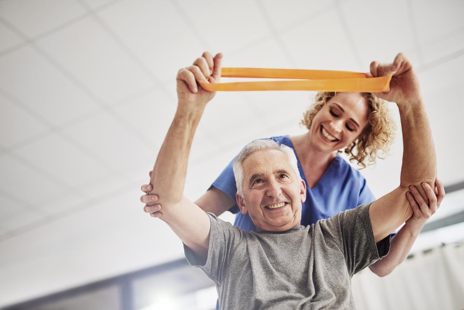 Na vrhuncu spastičnosti i boli preporučuju se laganije vježbe.