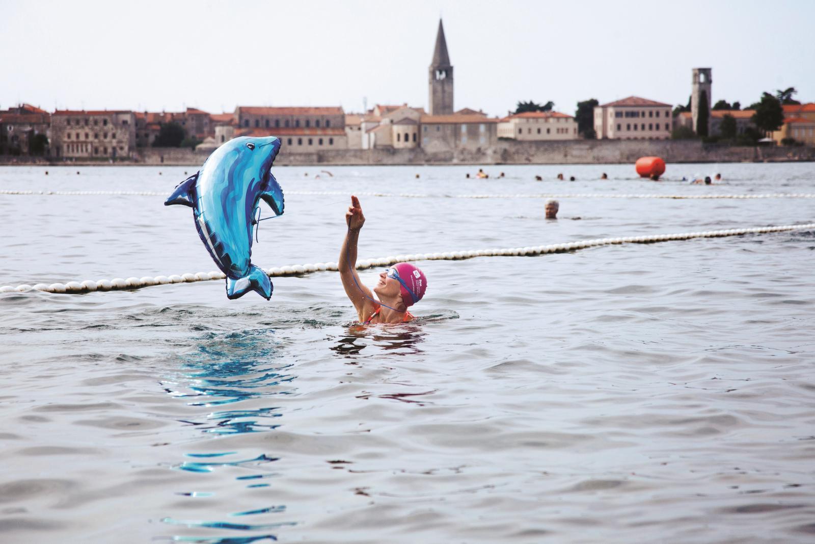 Novitet ovogodišnjeg izdanja Porečkog delfina je dodatni sportski program zabavnog karaktera, ali i super sportski izazov.