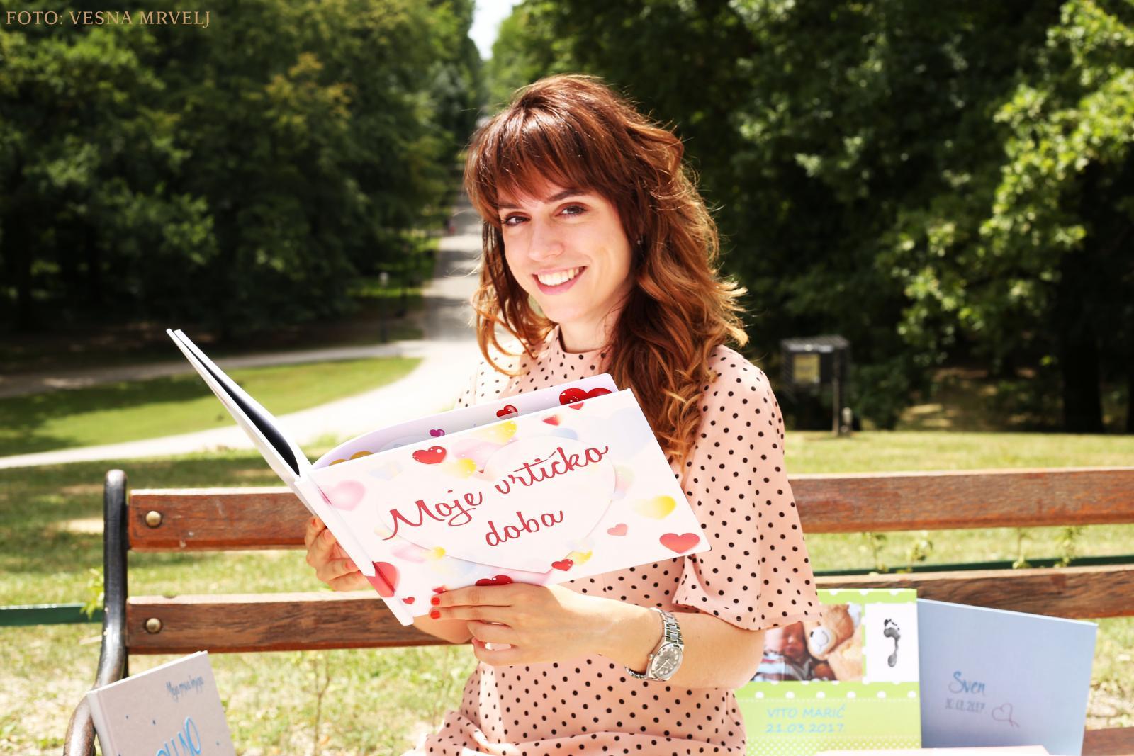 Posebnu čar svojim unikatnim knjigama Daria je dodala apliciranjem djetetova imena i prezimena 3D printom na korice.