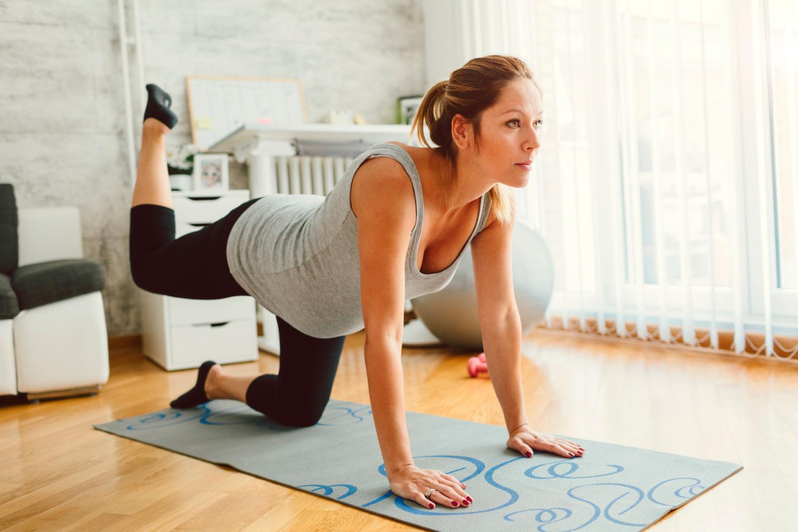 Vježbe za balans trebate izvoditi oprezno, uvijek uz oslonac i po mogućnosti uz stručan nadzor.