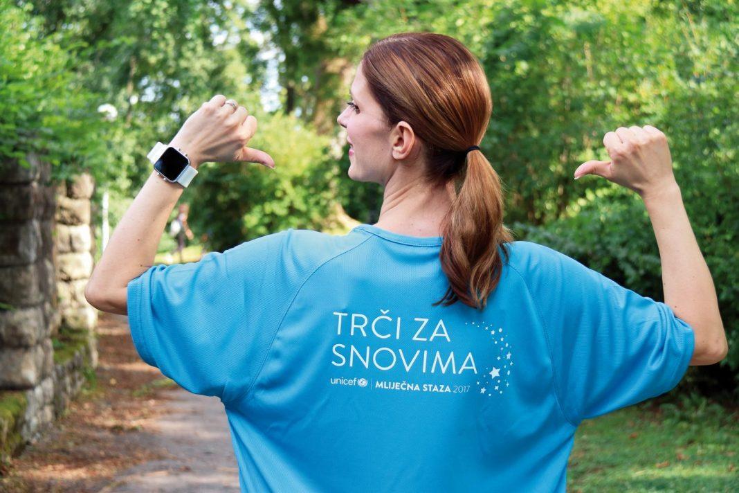 Svoju podršku dala je i UNICEF-ova ambasadorica dobre volje, glumica Bojana Gregorić Vejzović.