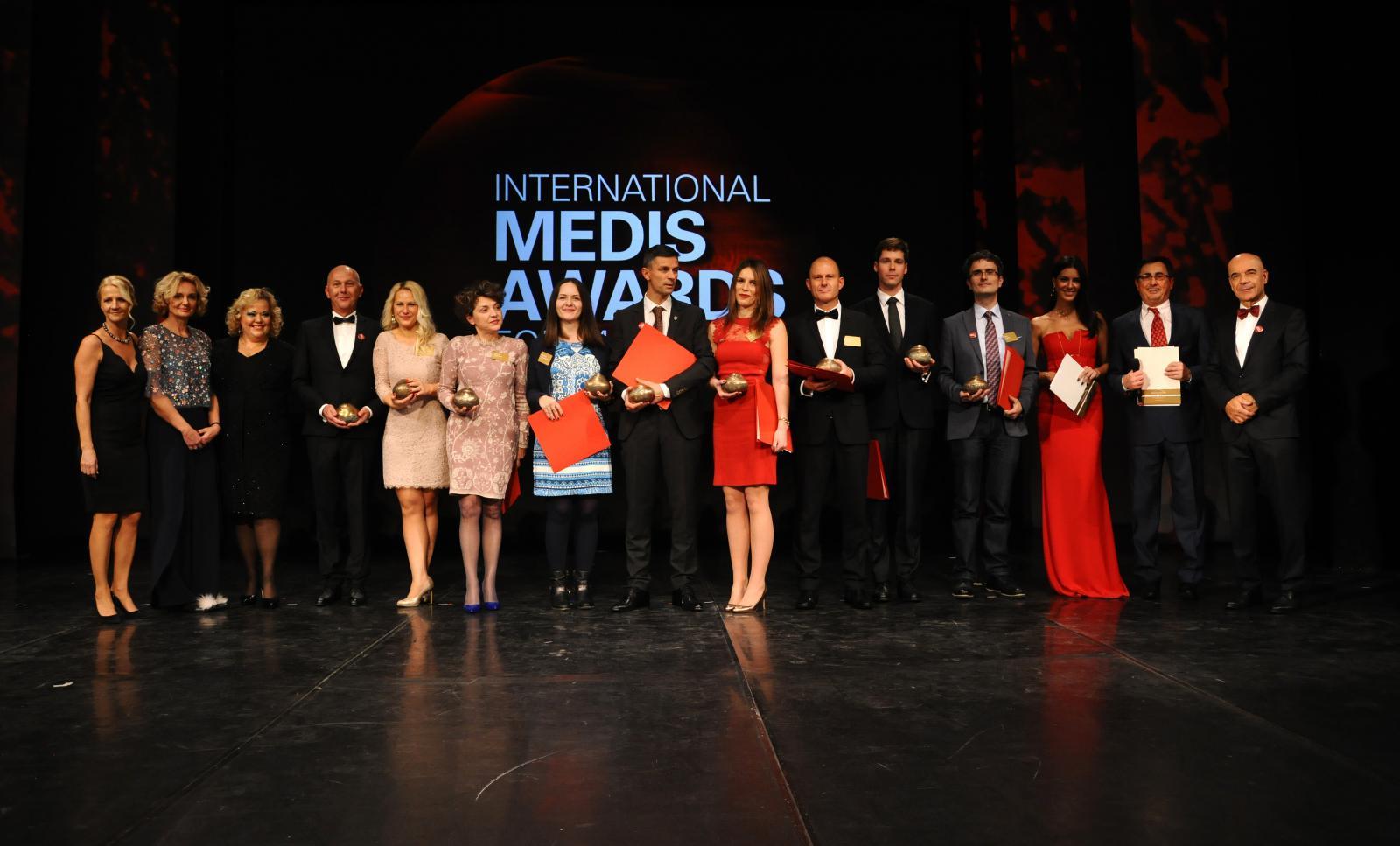 Dobitnici nagrada: prof. dr. Matija Tomšič, dr. Veronika Rutar Gorišek, dr. Jelena Vojinović, dr. Mladena Lalić-Popović, dr. Tihamer Molnar, dr. Marina Labor, dr. Aleksej Medić, dr. Mattias Mandorfer te dr. Ivan Padjen.