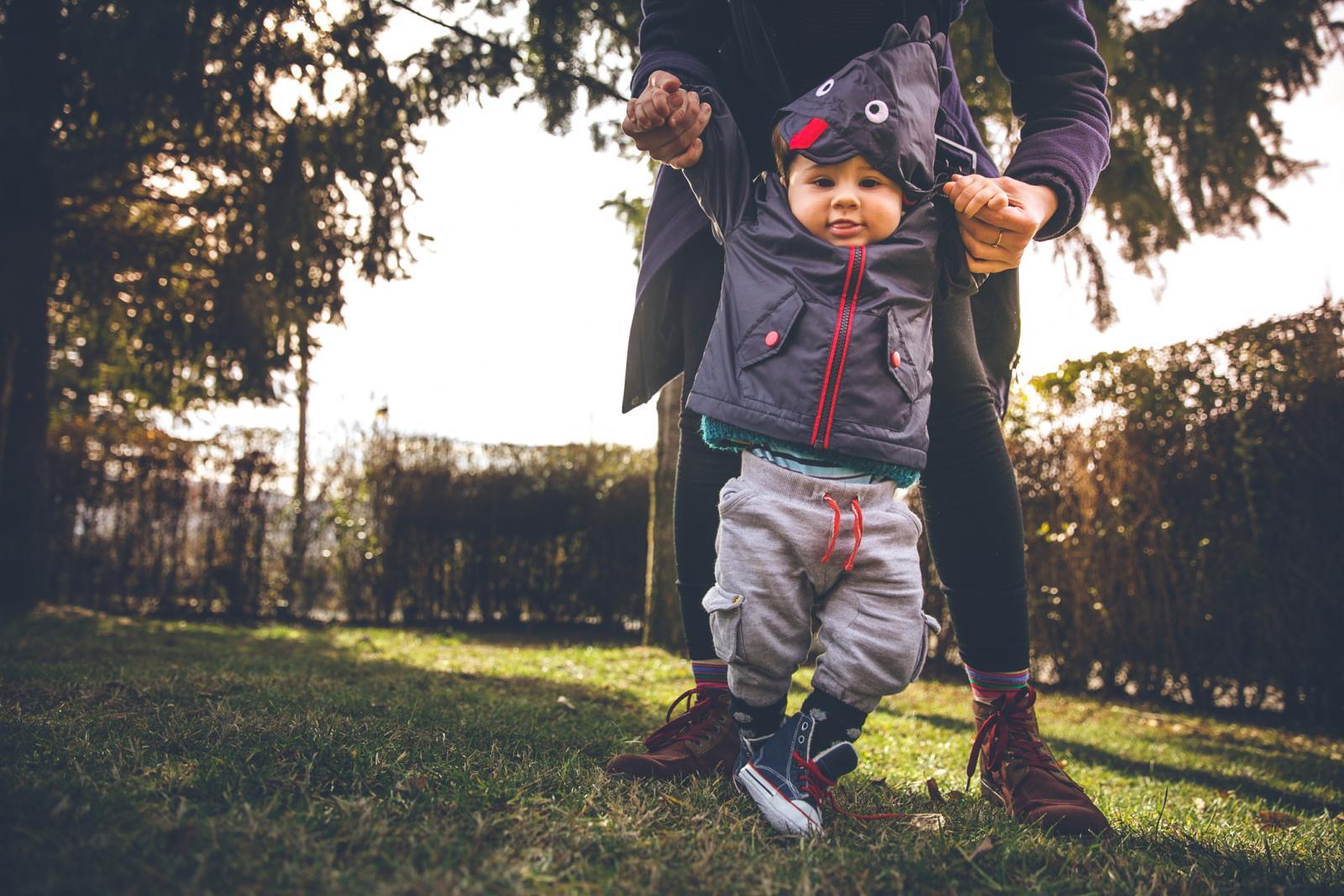 Baš kao i sjedenje kod male djece, ni hodanje ne treba forsirati.