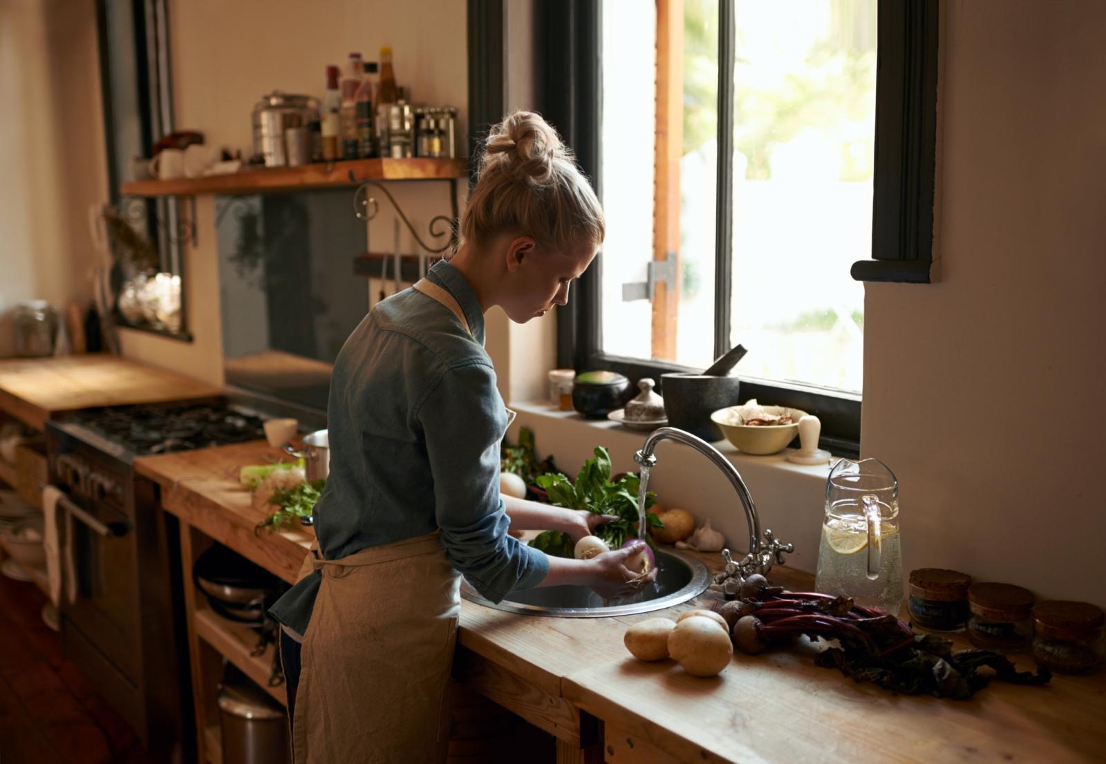 Za osobe koje imaju zdravstvenih problema s bubrezima preporučuje se tri puta u tjednu jesti vegetarijansku prehranu koristeći dozvoljene namirnice.