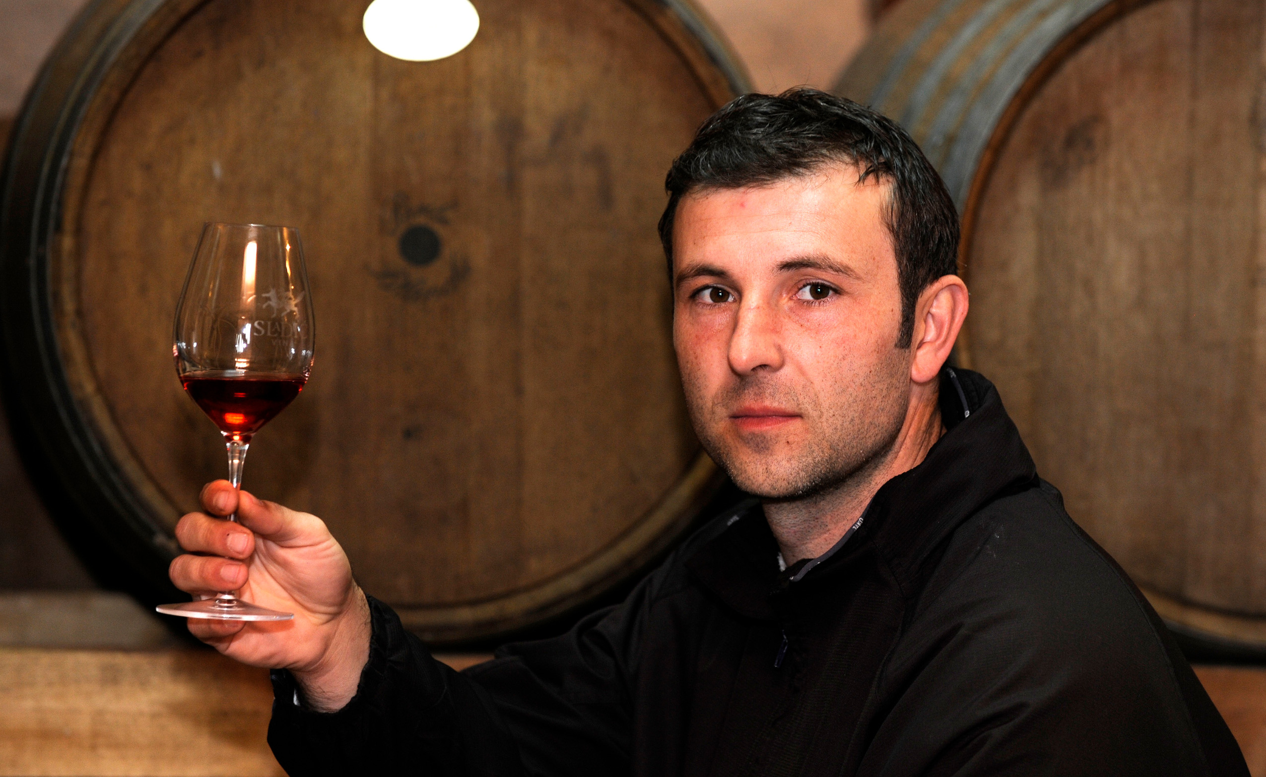 Plastovo ,010312. Vina i vinski podrum vinarije  Marka Sladica u Plastovu kod Skradina. Foto: Niksa Stipanicev / CROPIX