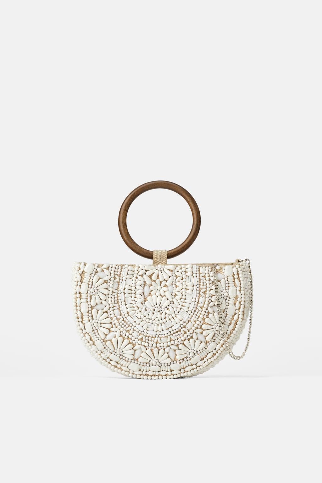 Ovalna torba s perlicama, Zara, 299,90 kuna