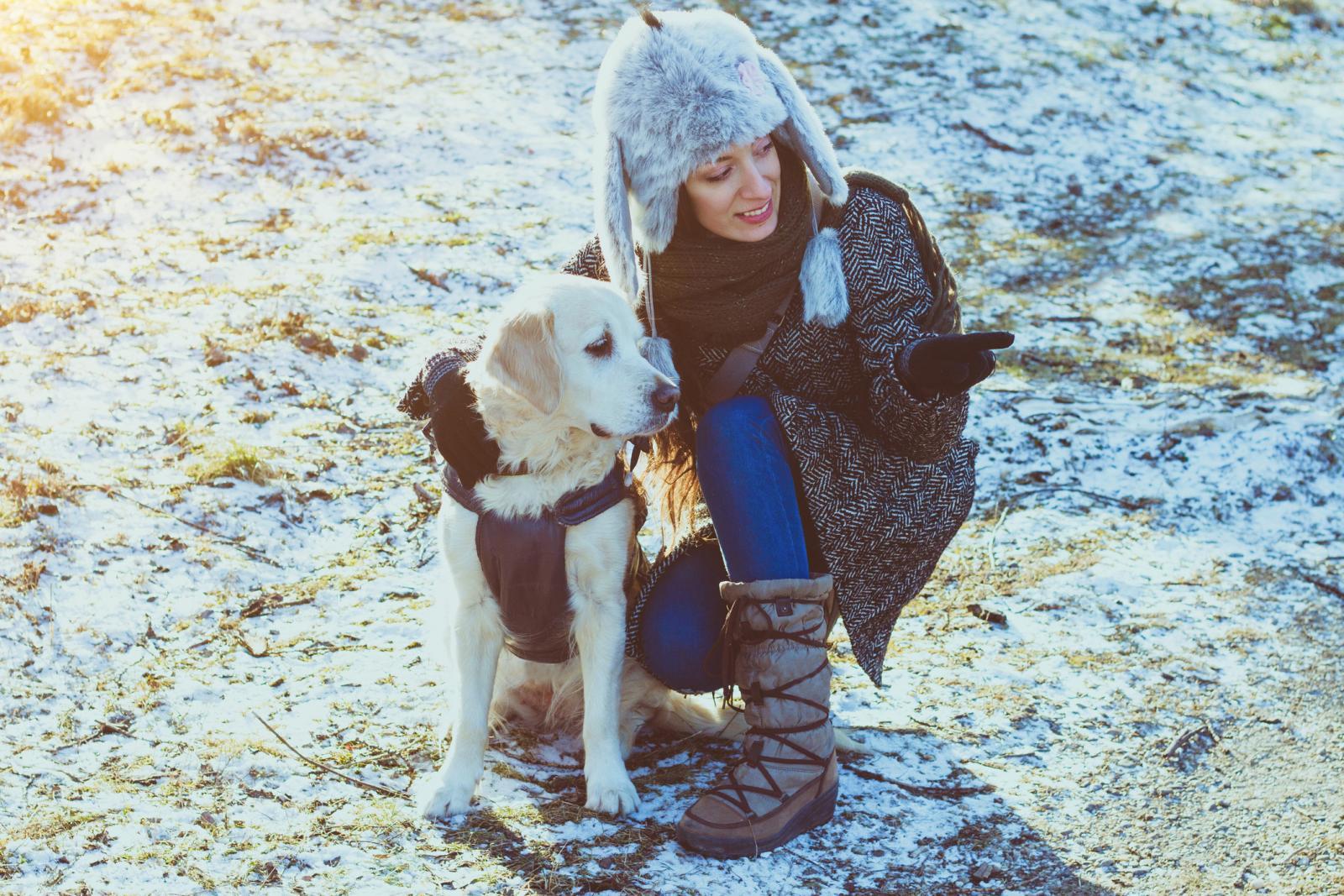U hladnim mjesecima brojni ljubimci imaju tegoba s raspucanim jastučićima na šapicama, posebno ako dulje borave na snijegu.