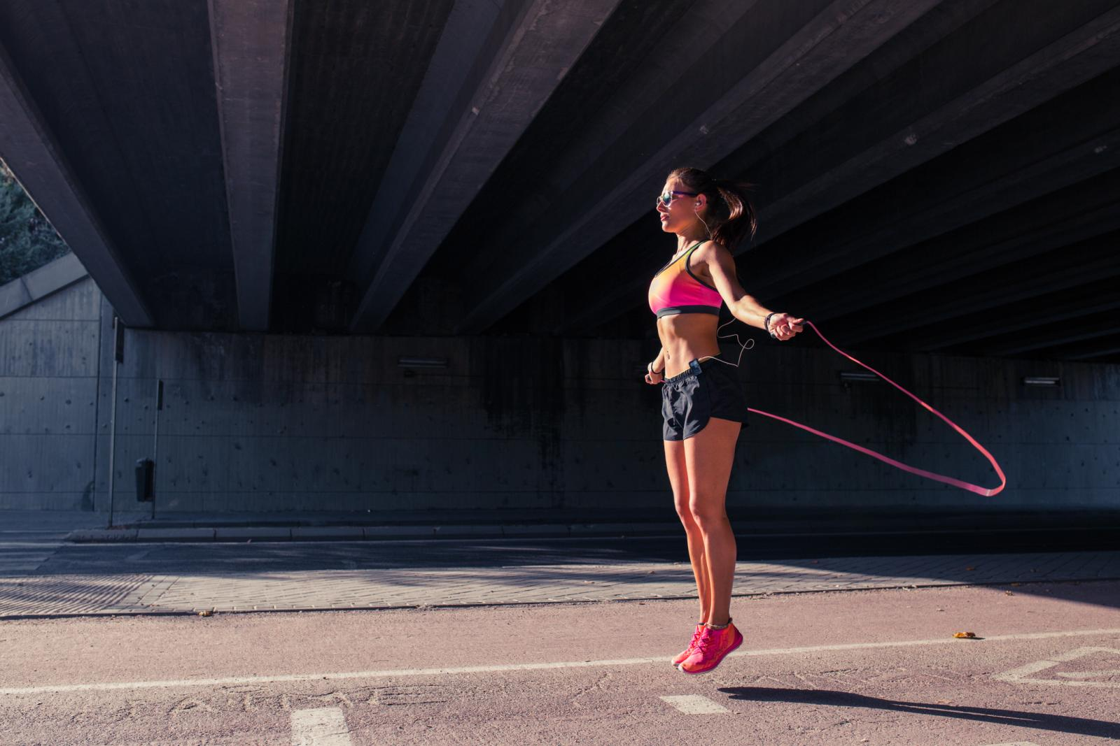 Jeste li znali kako upravo preskačući uže gubimo najviše kalorija.