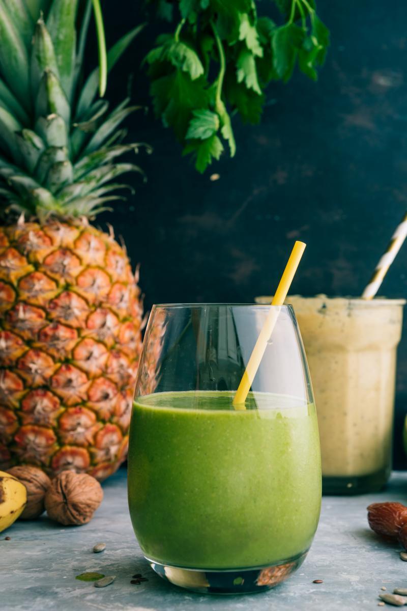 Ako niste ljubitelj ananasa, možete ga zamijeniti kivijem, jabukama ili kruškama.