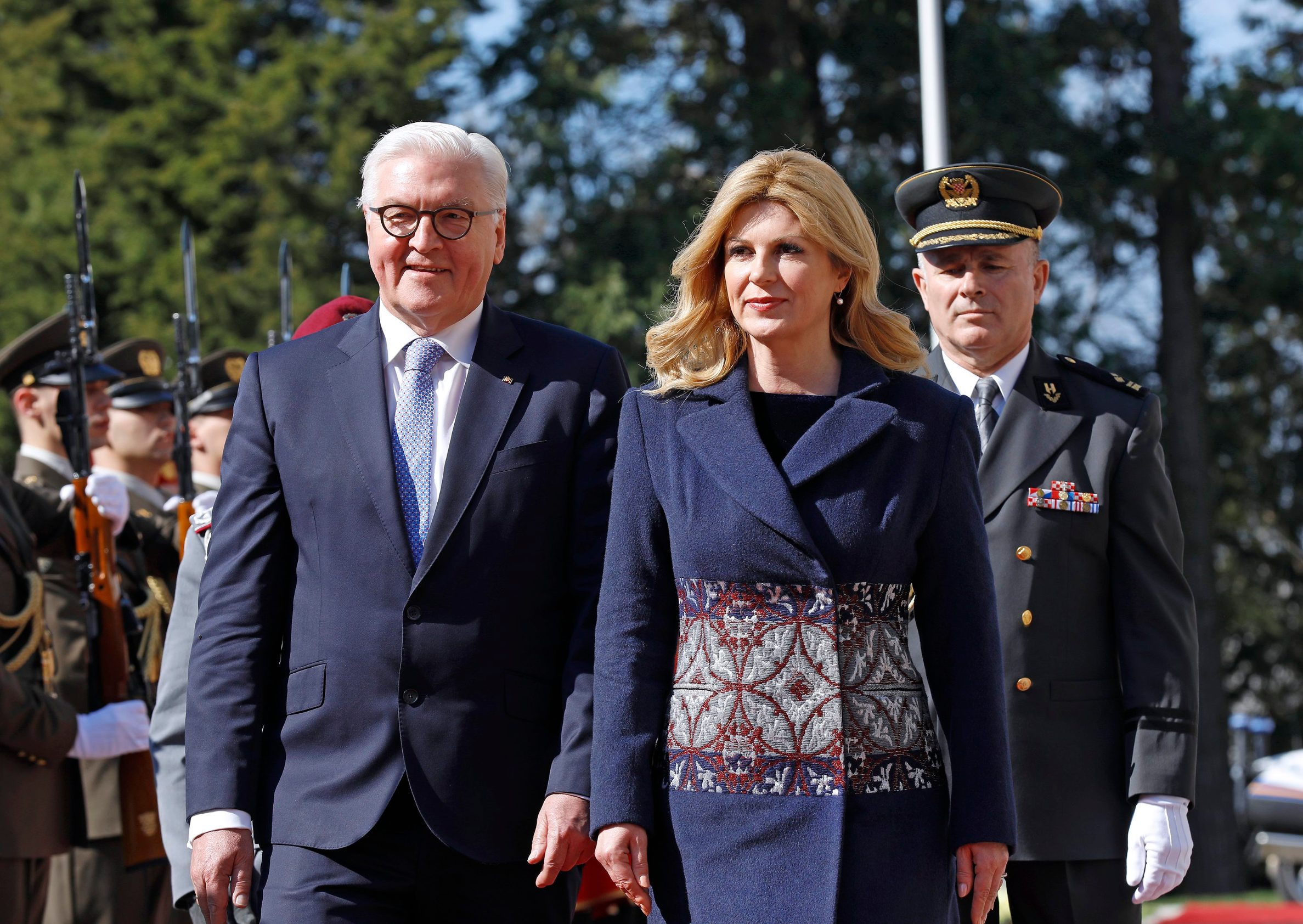 Walter Steinmeier i Kolinda Grabar Kitarović