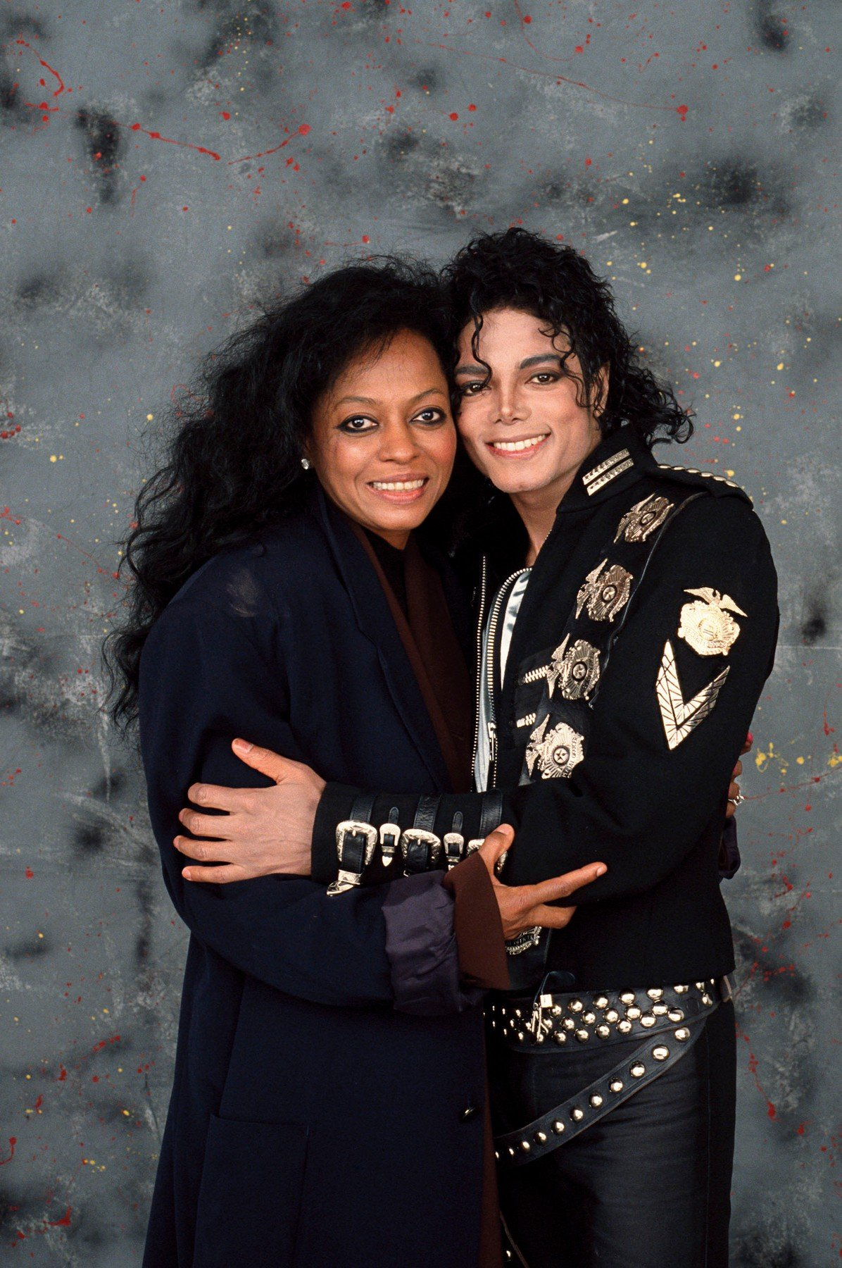 Diana Ross i Michael Jackson