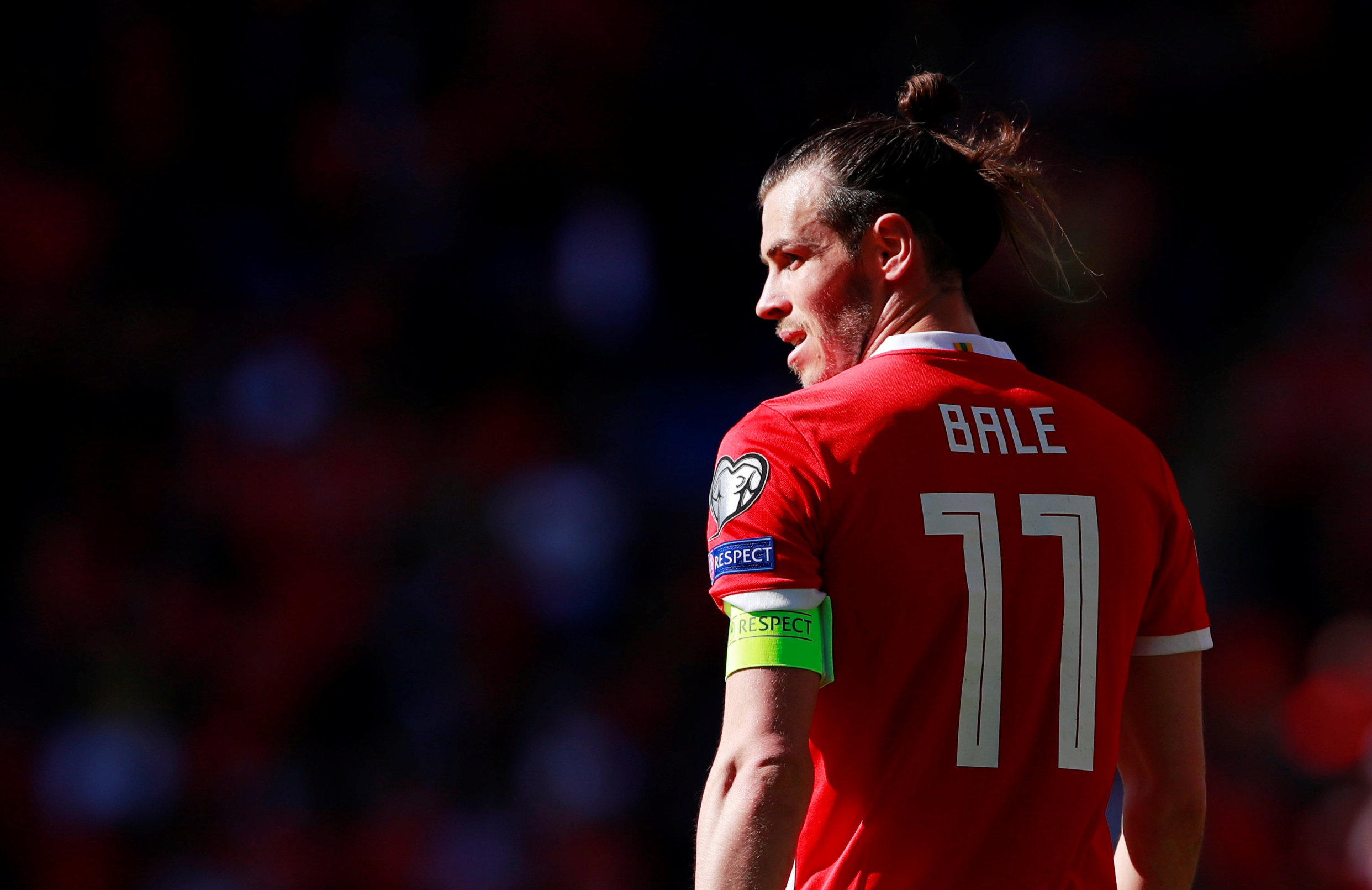 Soccer Football - Euro 2020 Qualifier - Group E - Wales v Slovakia - Cardiff City Stadium, Cardiff, Britain - March 24, 2019  Wales' Gareth Bale during the match      Action Images via Reuters/Andrew Couldridge