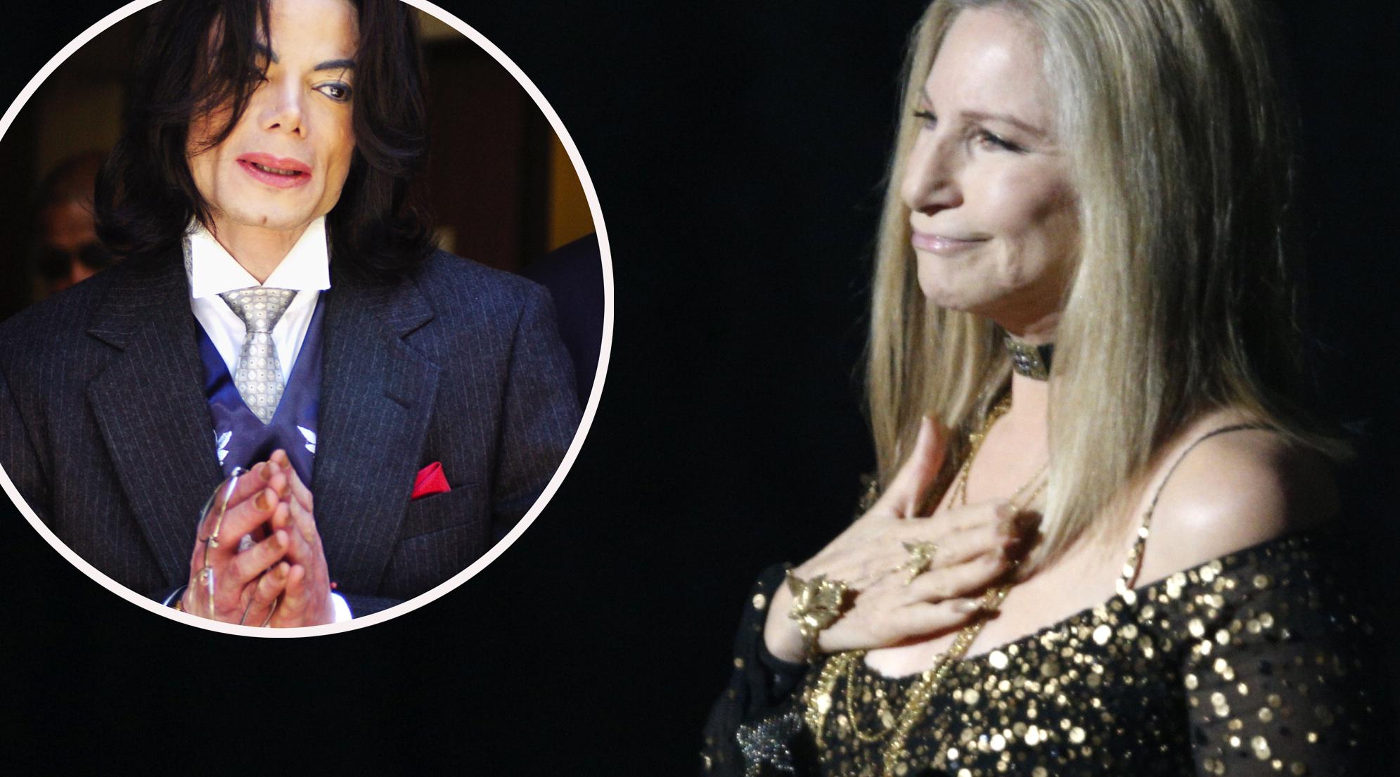 Michael Jackson (lijevo) i Barbra Streisand (desno)