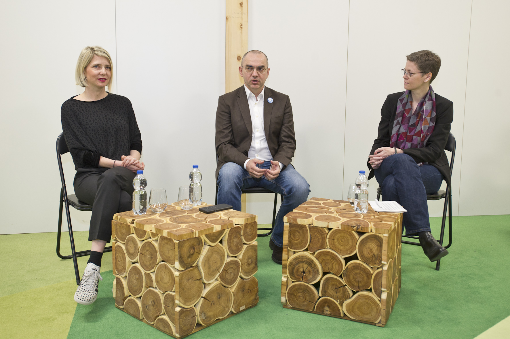 Nina Išek Međugorac (HT), Nenad Bakić (IRIM) i Sandra Heidemann (Deutsche Telekom Stiftung)
