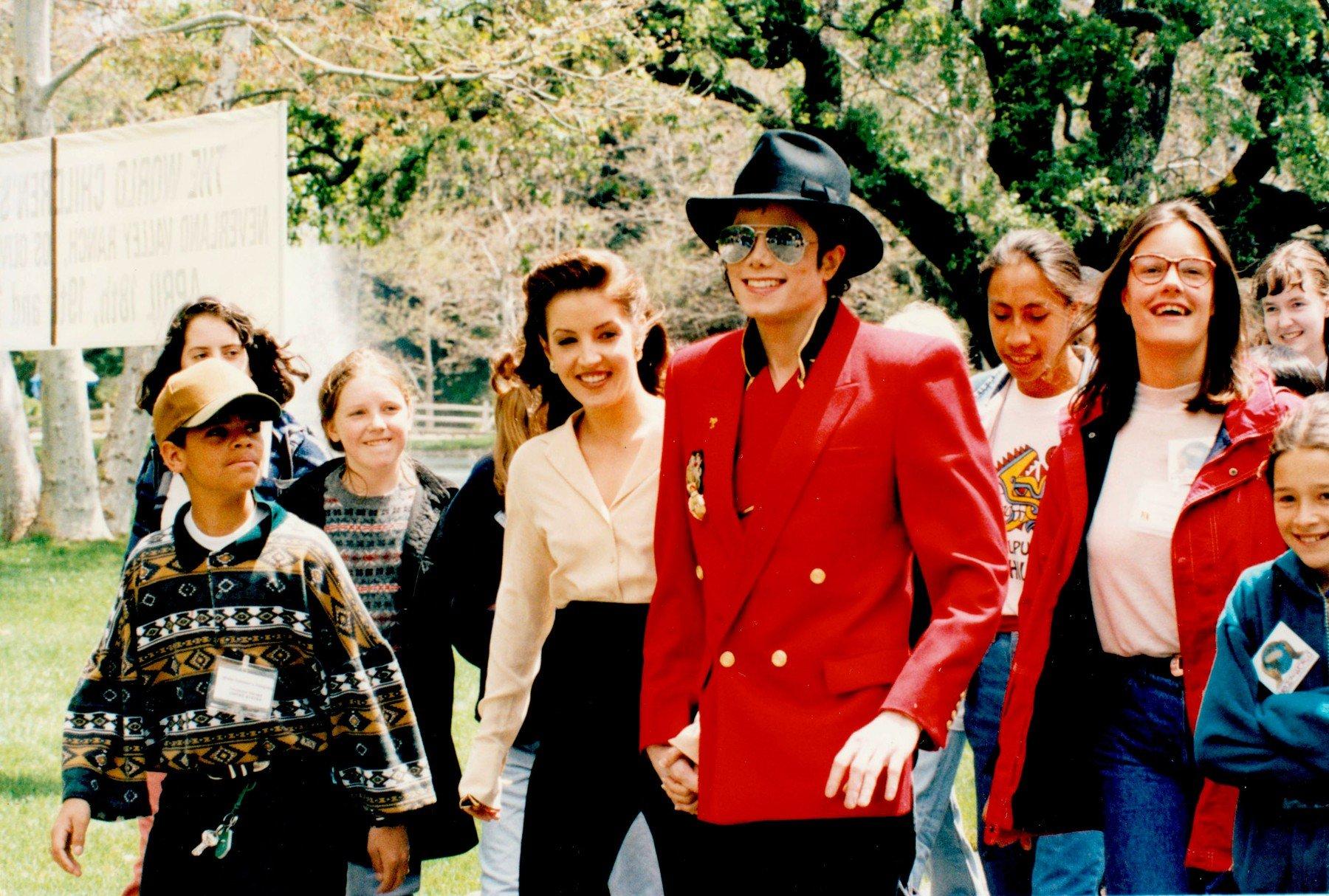 Lisa Marie Presley i Michael Jackson 1995. godine