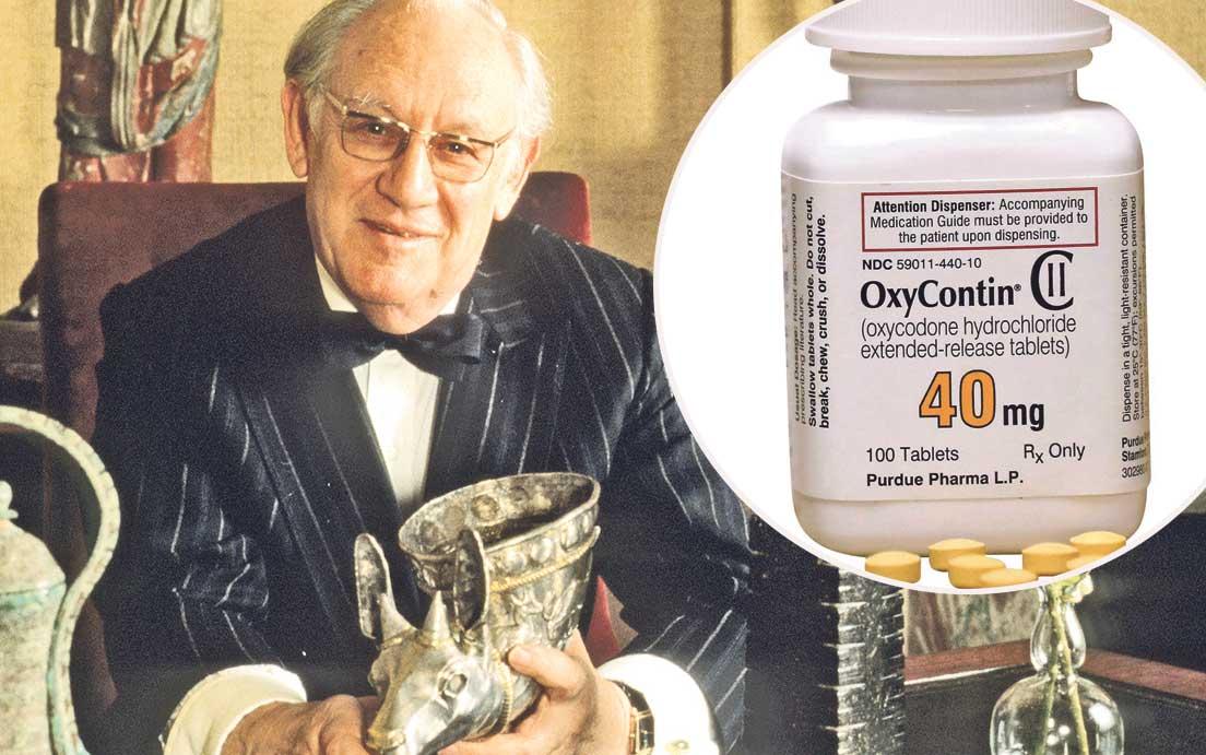 Arthur M. Sackler i OxyContin u krugu