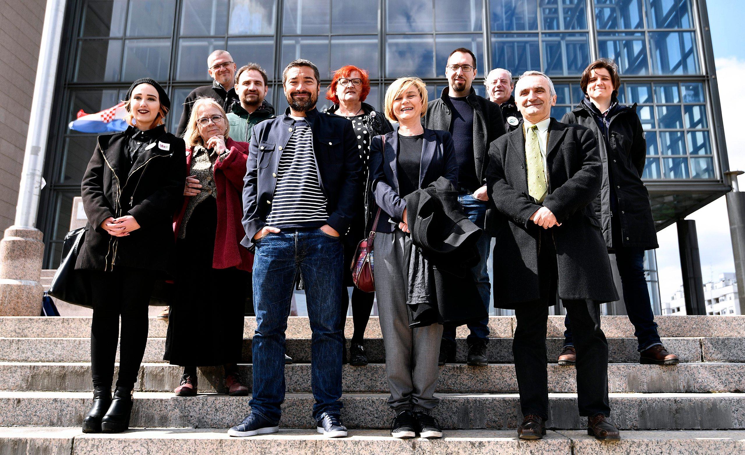 Teodor Celakoski, Dragan Markovina, Rada Borić, Sandra Benčić, Tomislav Tomašević, Zorislav Antun Petrović