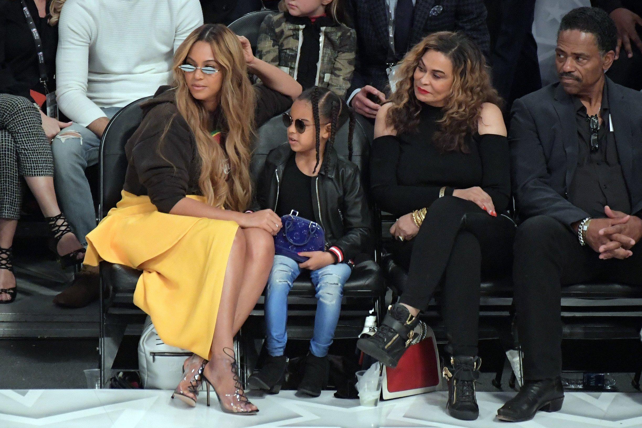 Beyoncé Knowles s kćeri Blue Ivy i majkom Tinom