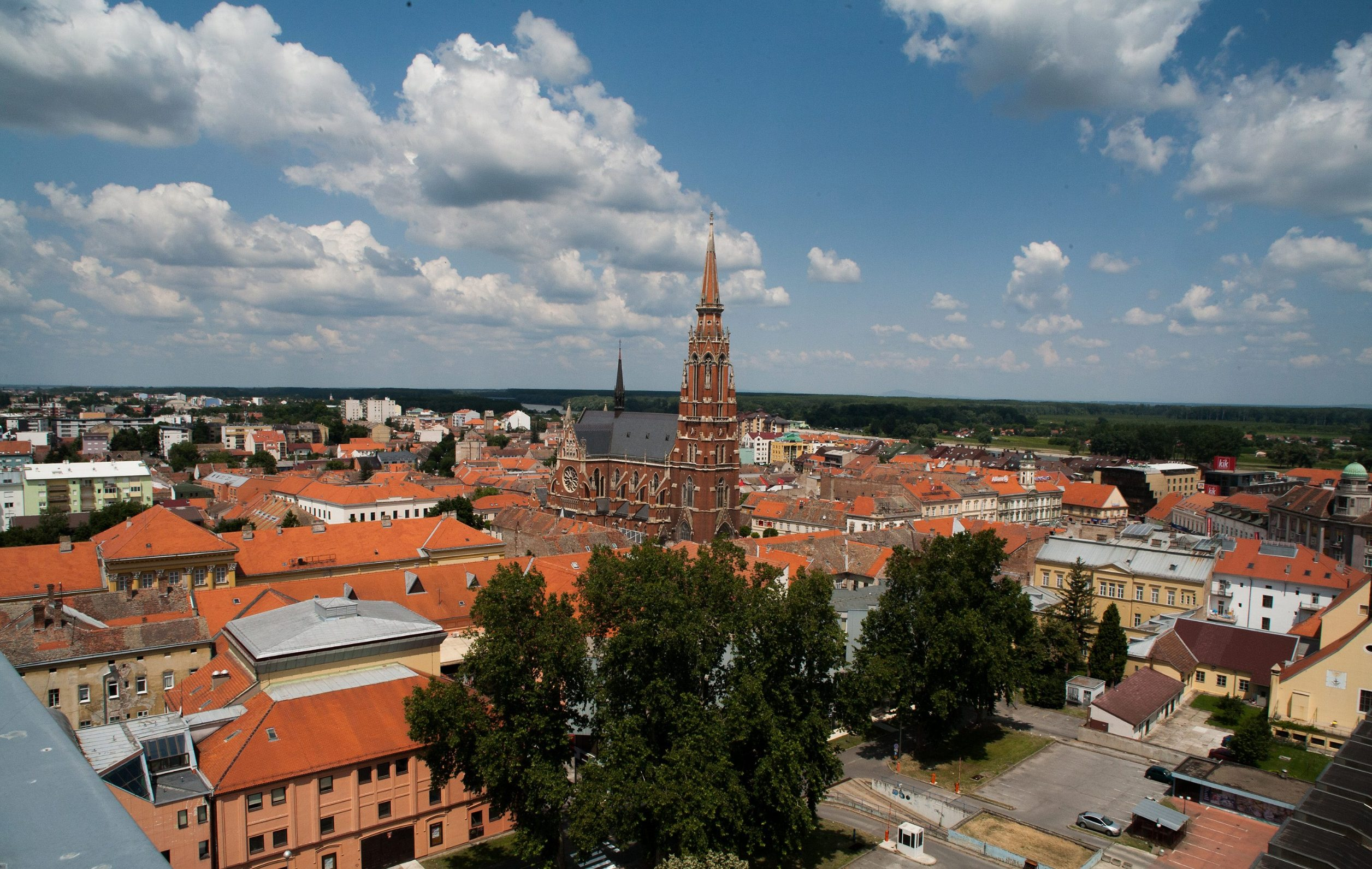 Osijek, panorama