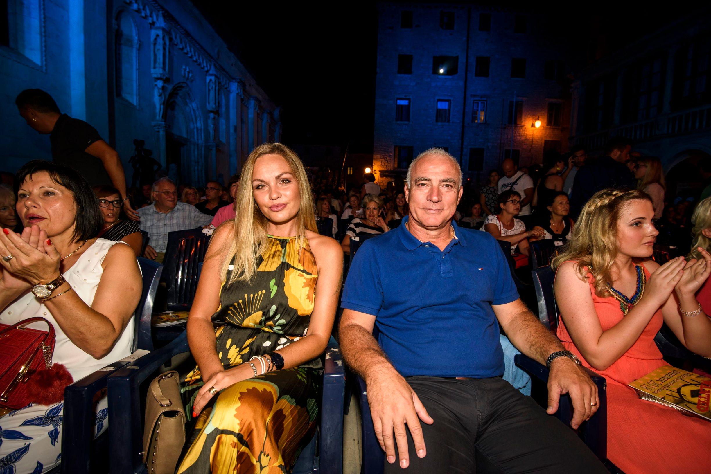 Župan Goran Pauk i supruga Katarina