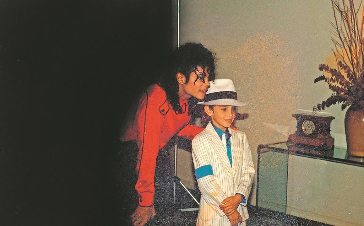 Michael Jackson i Wade Robson