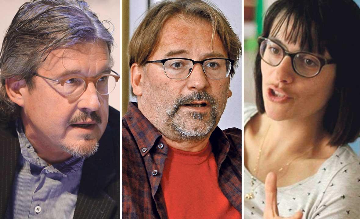 Chris Marcich, Hrvoje Hribar i Višnja Vukašinović