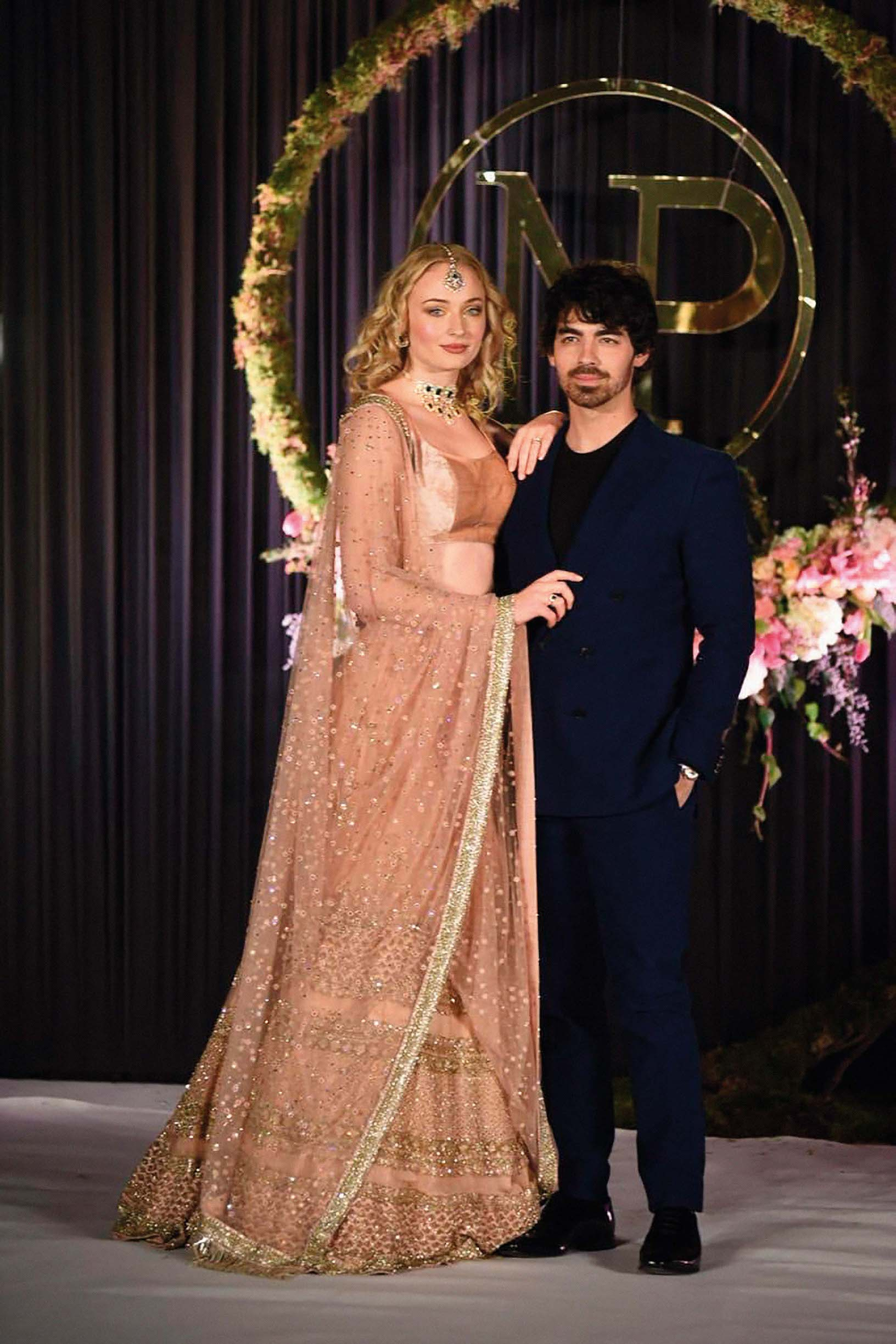 Nick Jonas and Priyanka Chopra are seen having another marriage ceremony in Delhi, India. The couple were joined by friend and family including Joe Jonas and his girlfriend Sophie Turner. 04 Dec 2018, Image: 400336849, License: Rights-managed, Restrictions: World Rights, Model Release: no, Credit line: Profimedia, Mega Agency