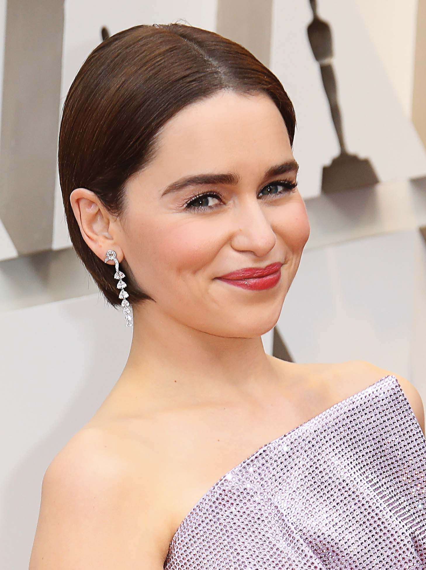 HOLLYWOOD, CA - FEBRUARY 24: Emilia Clarke attends the 91st Annual Academy Awards at Hollywood and Highland on February 24, 2019 in Hollywood, California. (Photo by Dan MacMedan/Getty Images)