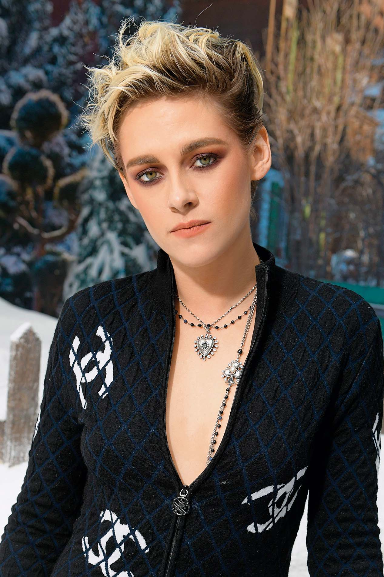 Kristen Stewart in the front row Chanel show, Front Row, Fall Winter 2019, Paris Fashion Week, France - 05 Mar 2019, Image: 417331728, License: Rights-managed, Restrictions: , Model Release: no, Credit line: Profimedia, TEMP Rex Features