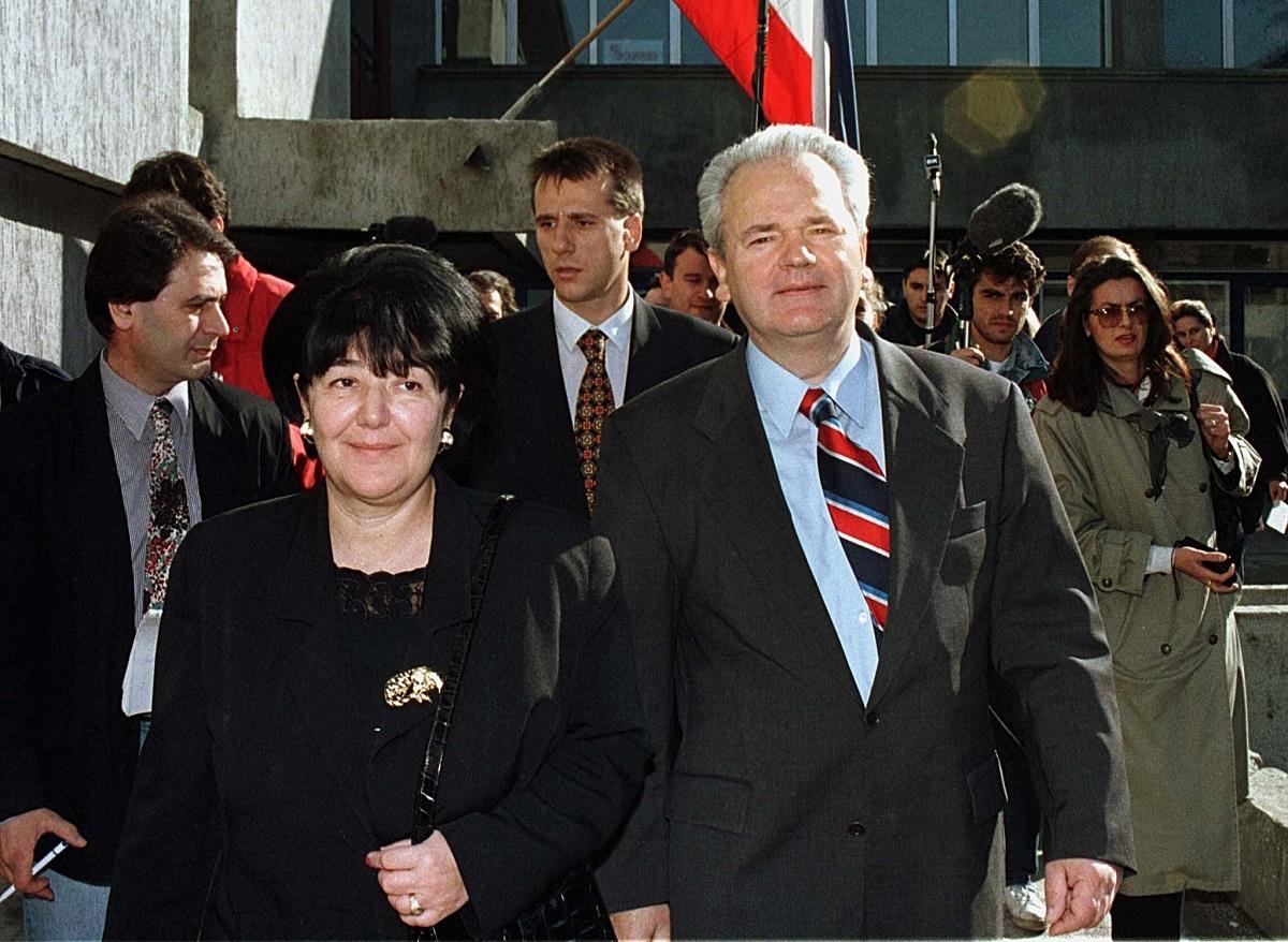 Mira Marković i Slobodan Milošević