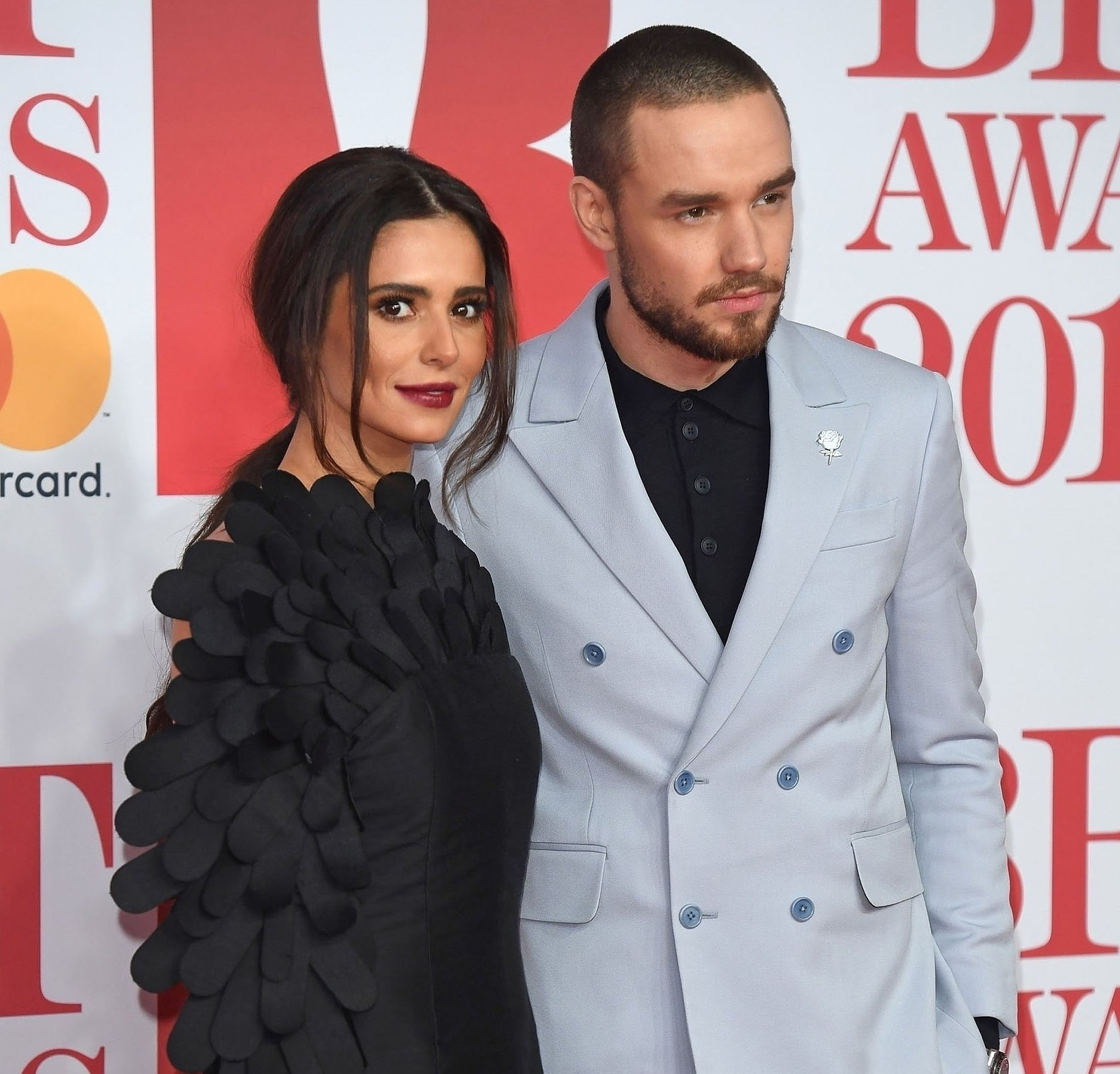 BGUK_1150824 - London, UNITED KINGDOM  - Cheryl and Liam Payne attend the 2018 Brit Awards. Cheryl held a single white rose as a sign of affection from Liam despite reports of the couple's relationship on the rocks.  Pictured: Cheryl and Liam Payne  BACKGRID UK 22 FEBRUARY 2018, Image: 364011246, License: Rights-managed, Restrictions: , Model Release: no, Credit line: Profimedia, Backgrid UK