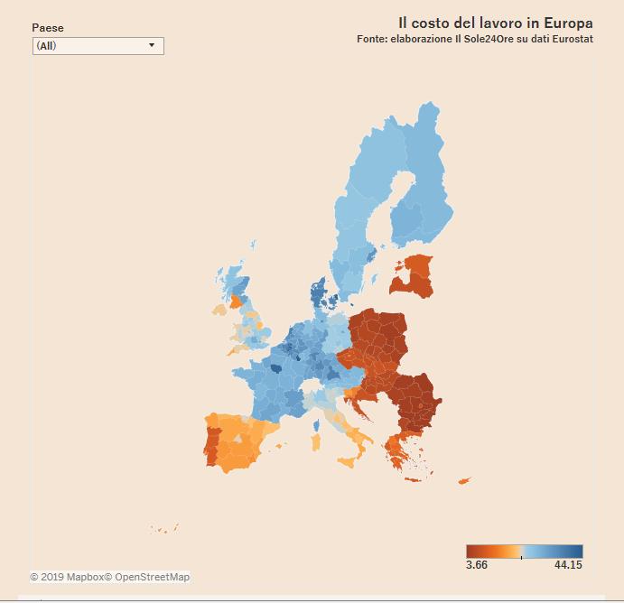 Slika nove željezne zavjese u Europi