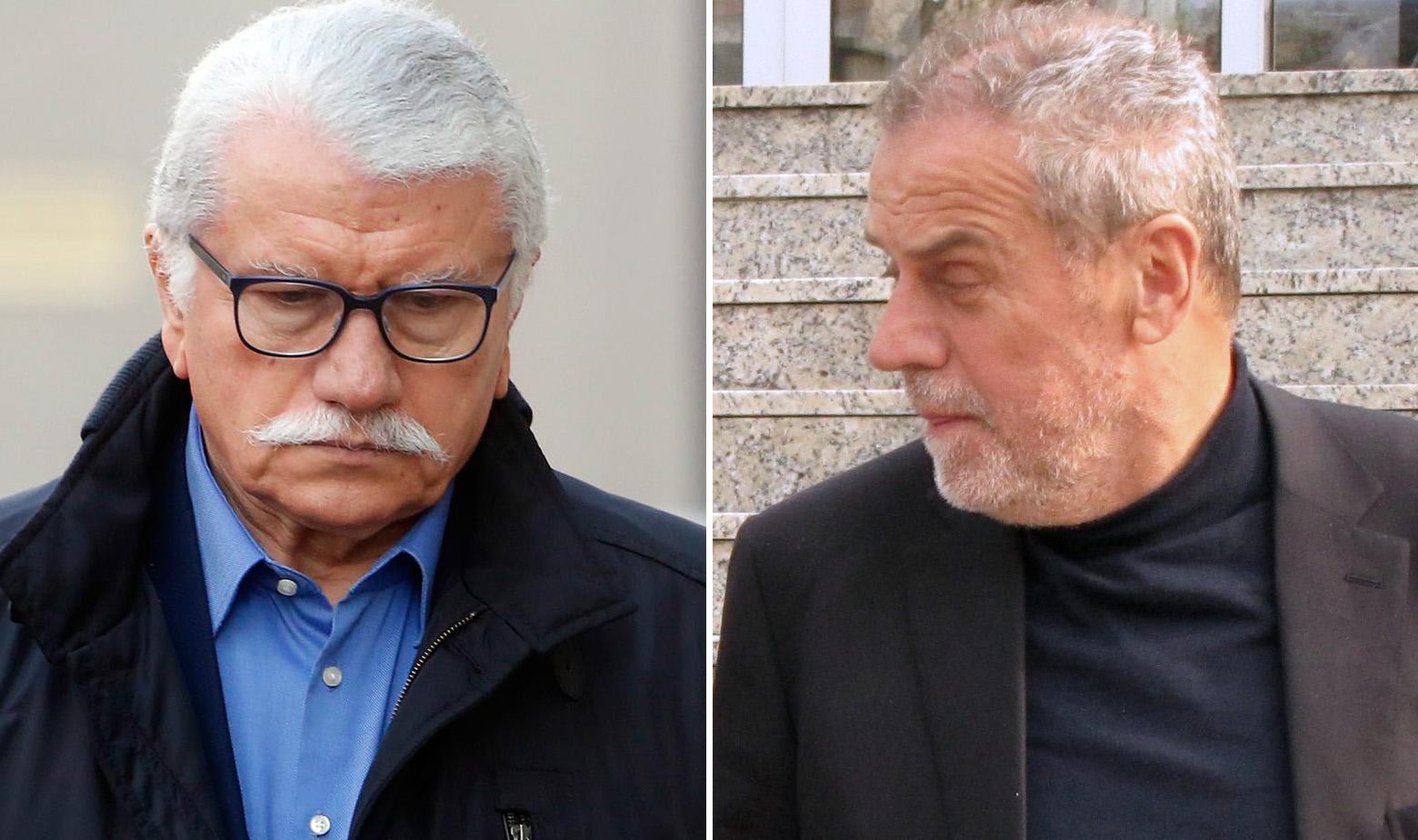 Vidoje Bulum i Milan Bandić