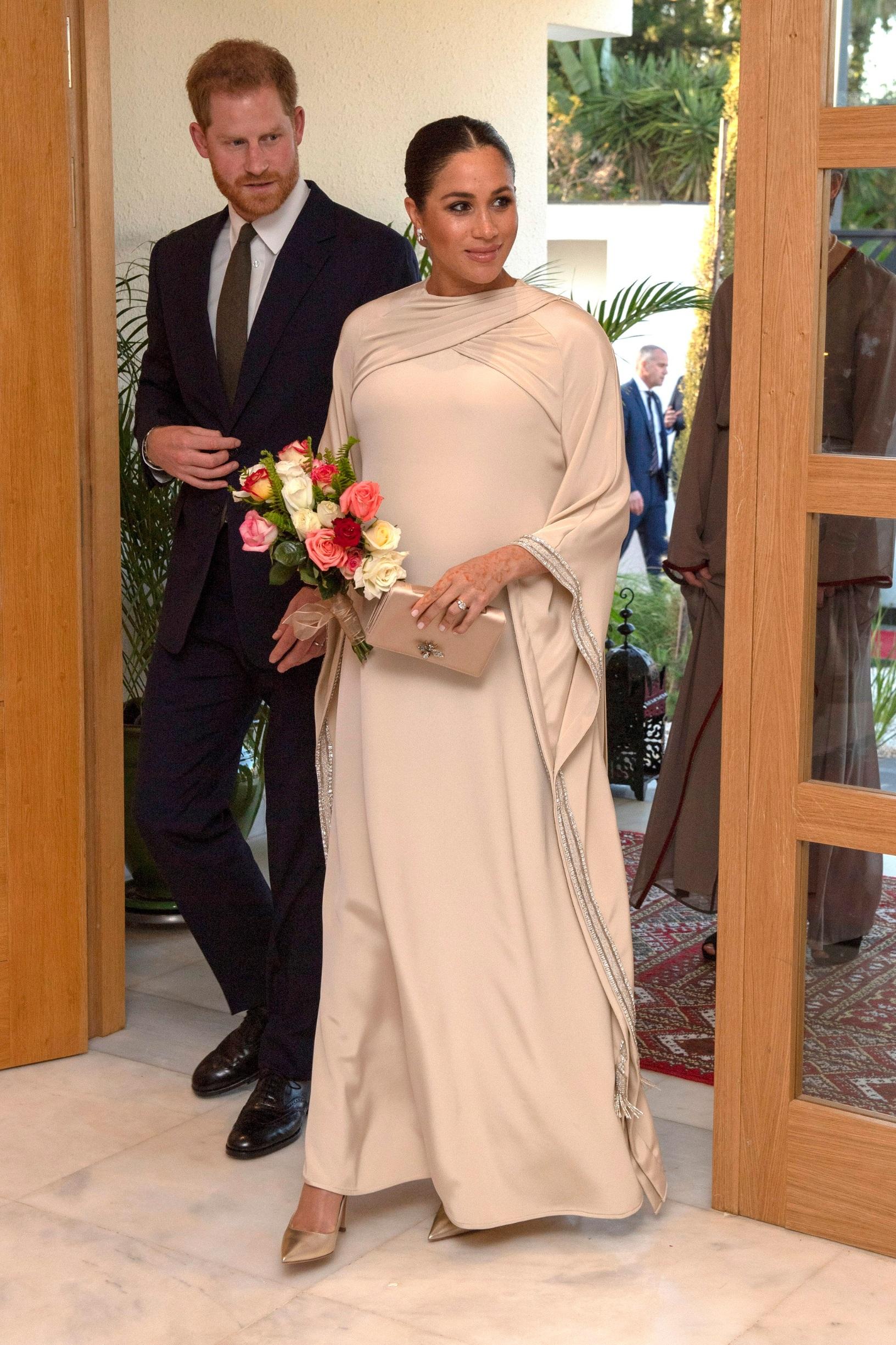 Jednu od najskupljih kreacija s potpisom Diora nosila je u Maroku
