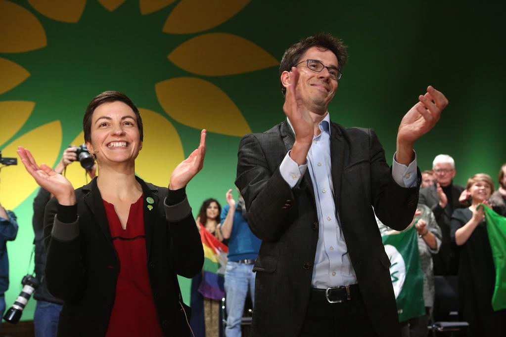 Spitzenkandidati Europske stranke zelenih Ska Keller i Bas Eickhout
