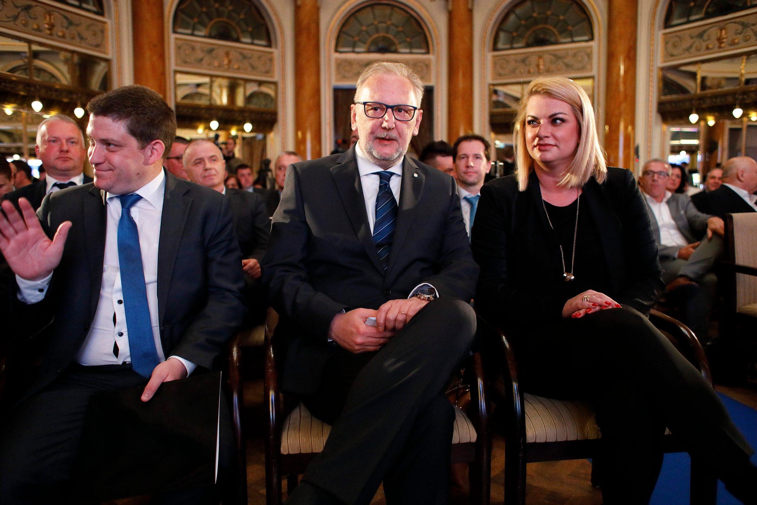 Oleg Butković, Davor Božinović, Ana Hanžeković
