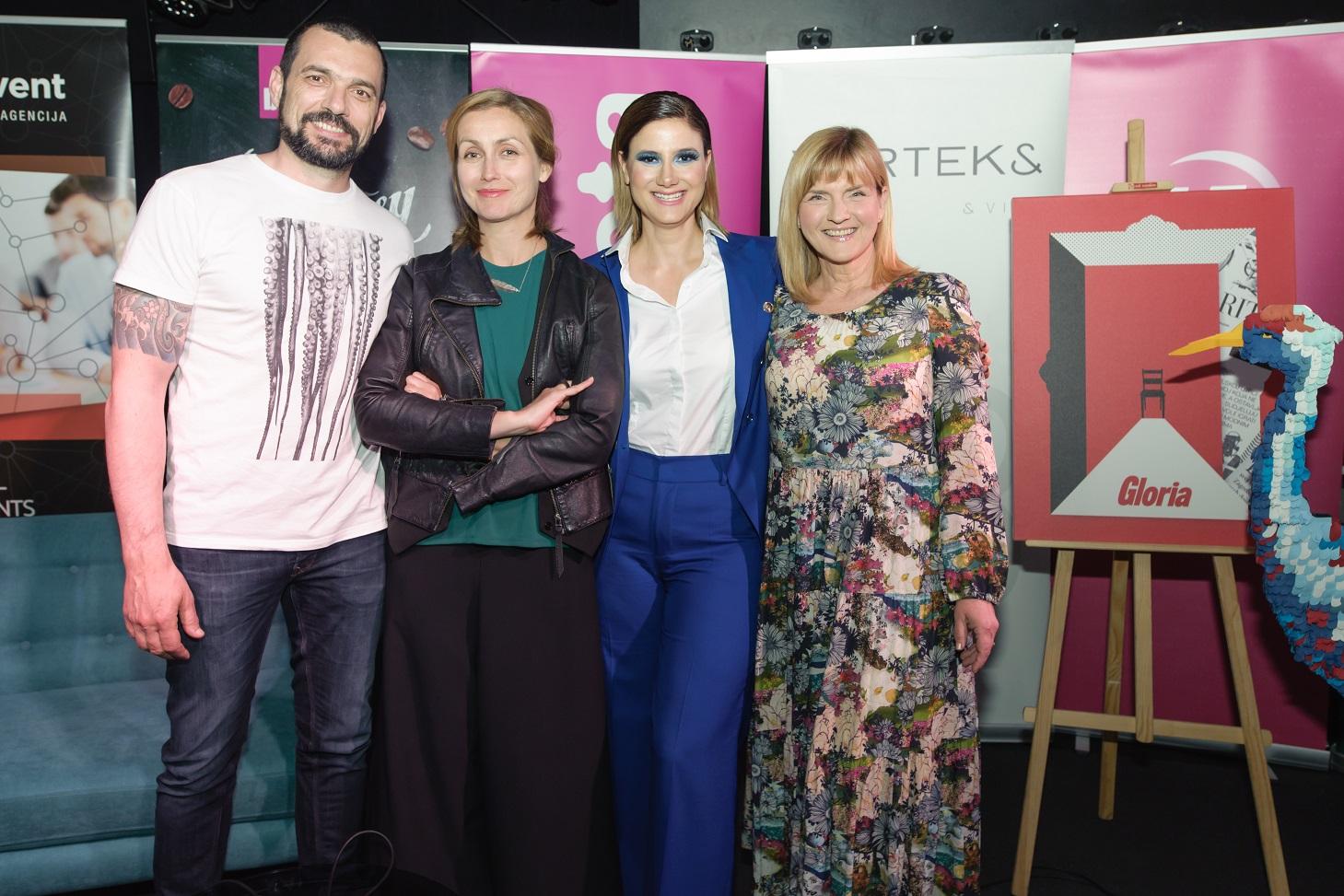 Željka Klemenčić, David Skoko, Marijana Perinić i Sanja Doležal