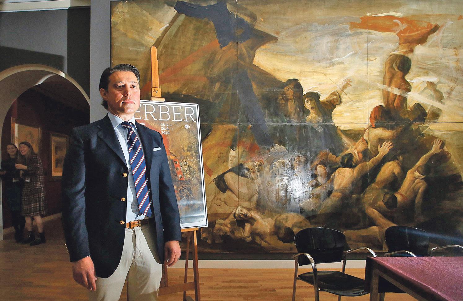 Umjetnikov sin i galerist Ensar Berber brine se o očevoj fondaciji smještenoj u Sarajevu, gdje se planira i budući muzej