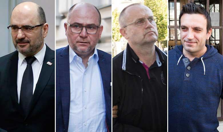 Milijan Brkić, Jozo Brkić, Blaž Curić, Franjo Varga