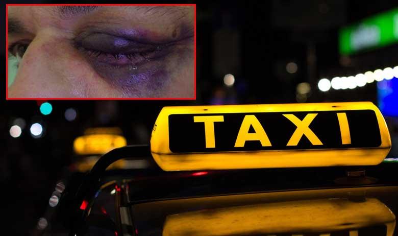 Ilustracija taksi vozila