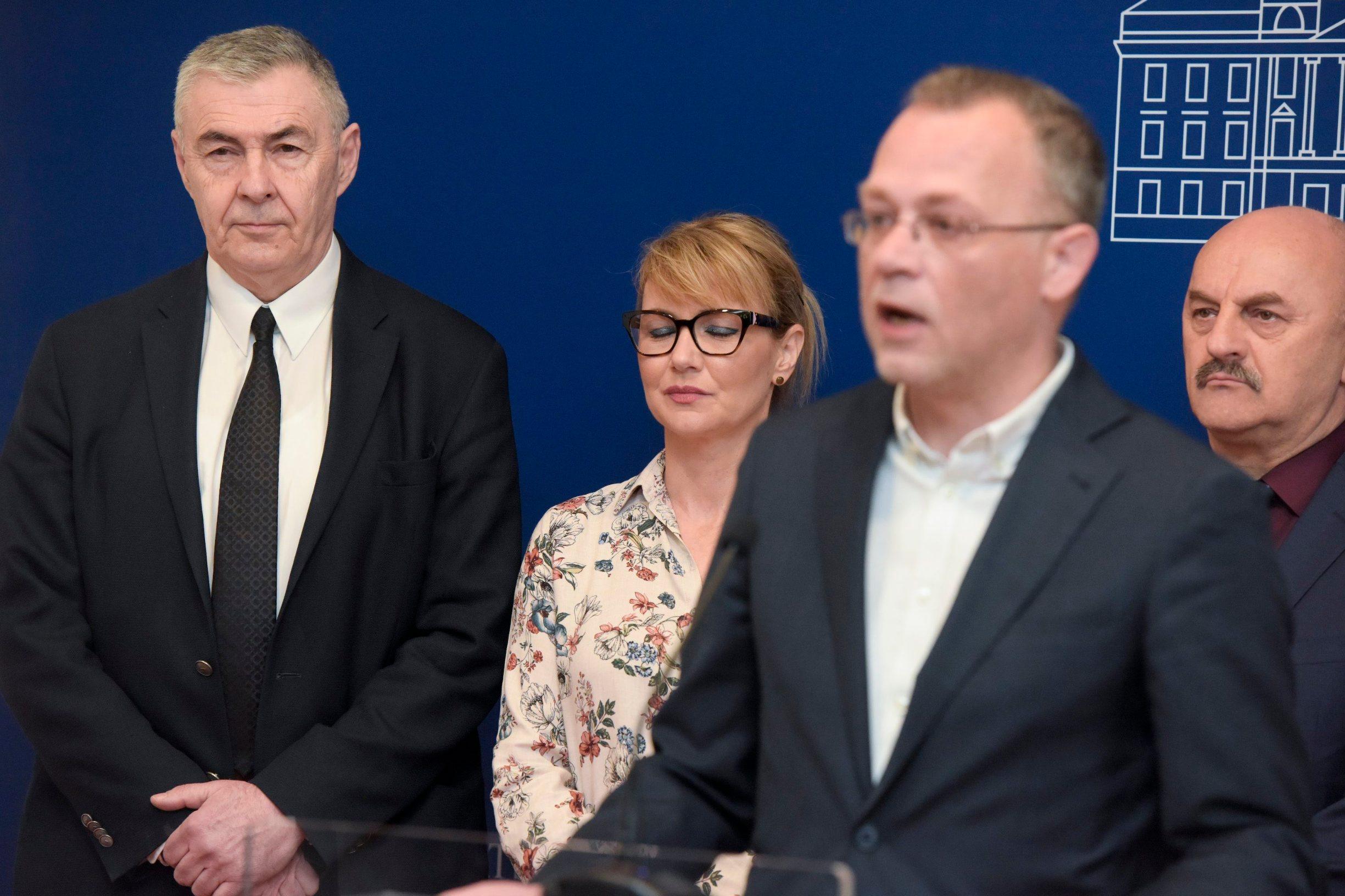 Željko Glasnović, Bruna Esih, Karlo Starčević, Zlatko Hasanbegović