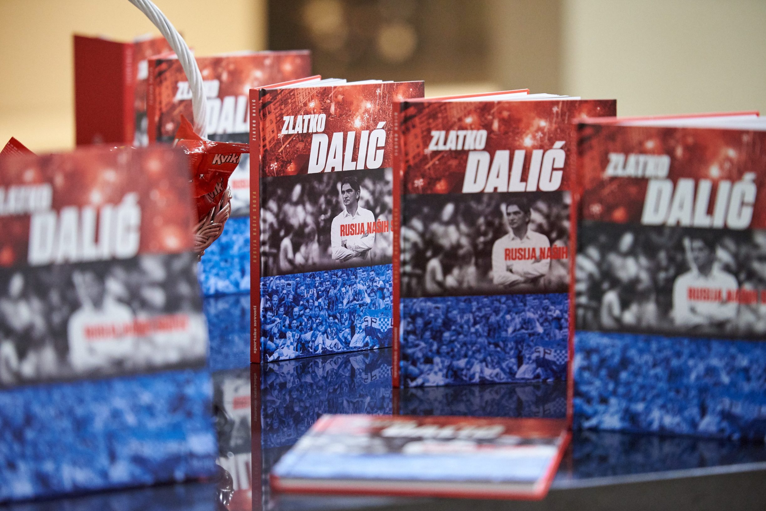 Dubrovnik, 020419. Hotel Rixos Libertas Promocija knjige Rusija nasih snova Zlatka Dalica. Na fotografiji: knjiga Foto: Tonci Plazibat / CROPIX