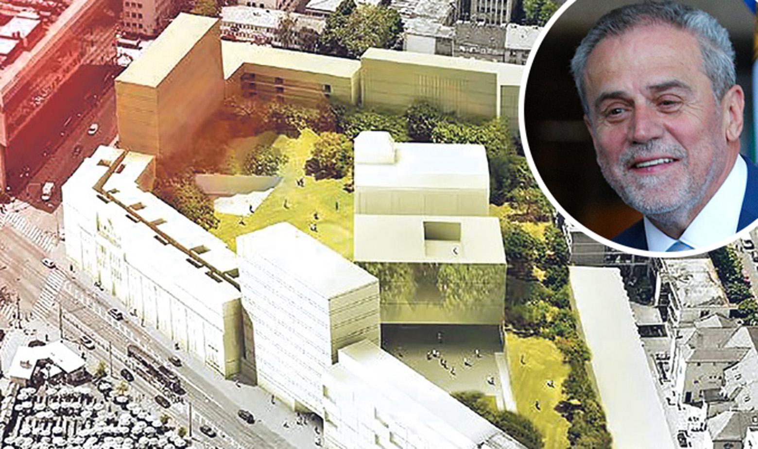 Izgled budućeg Bloka Badel prema radu arhitektonskog ureda Pablo Pita Architects