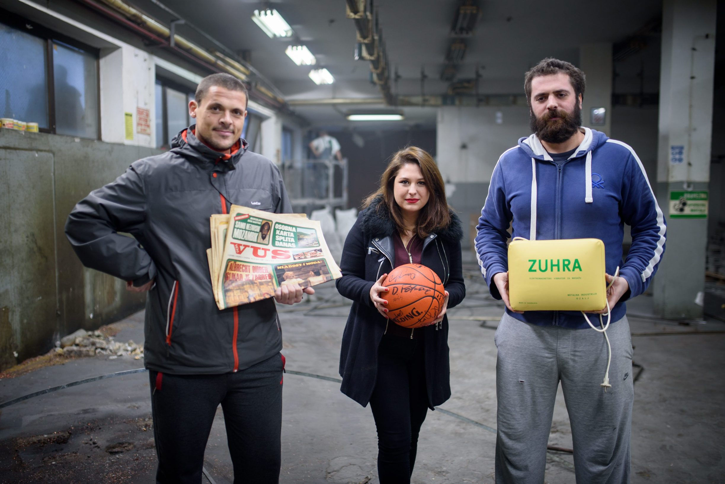 Nino Glavinić, Kristina Mirošević i Kreško Glavinić