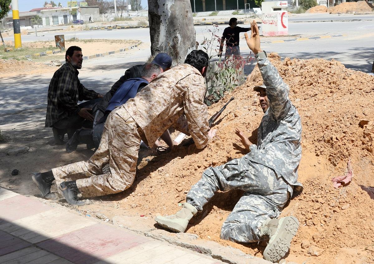 Borbe u Tripoliju