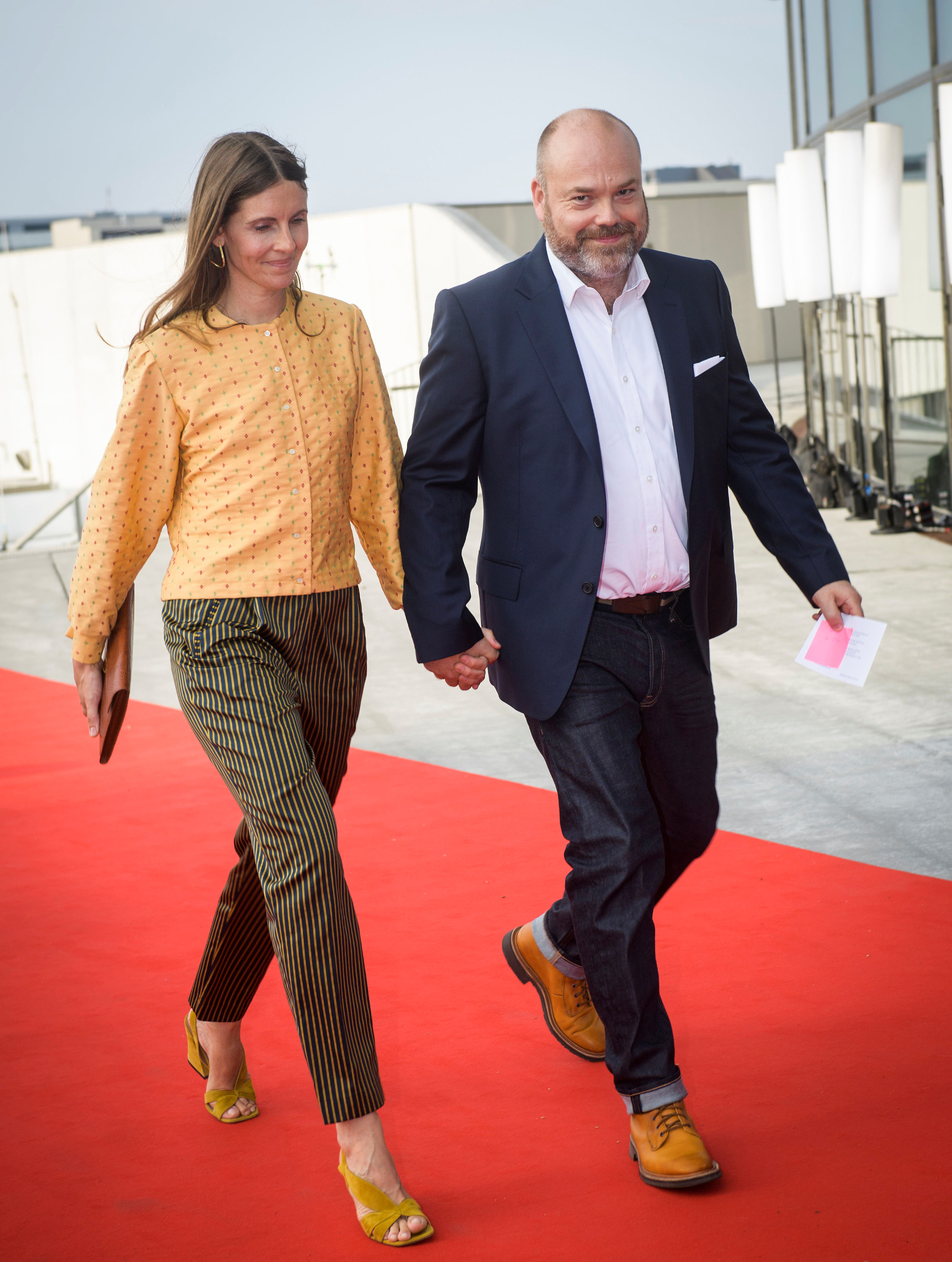 Anders Holch Povlsen i supruga Anne