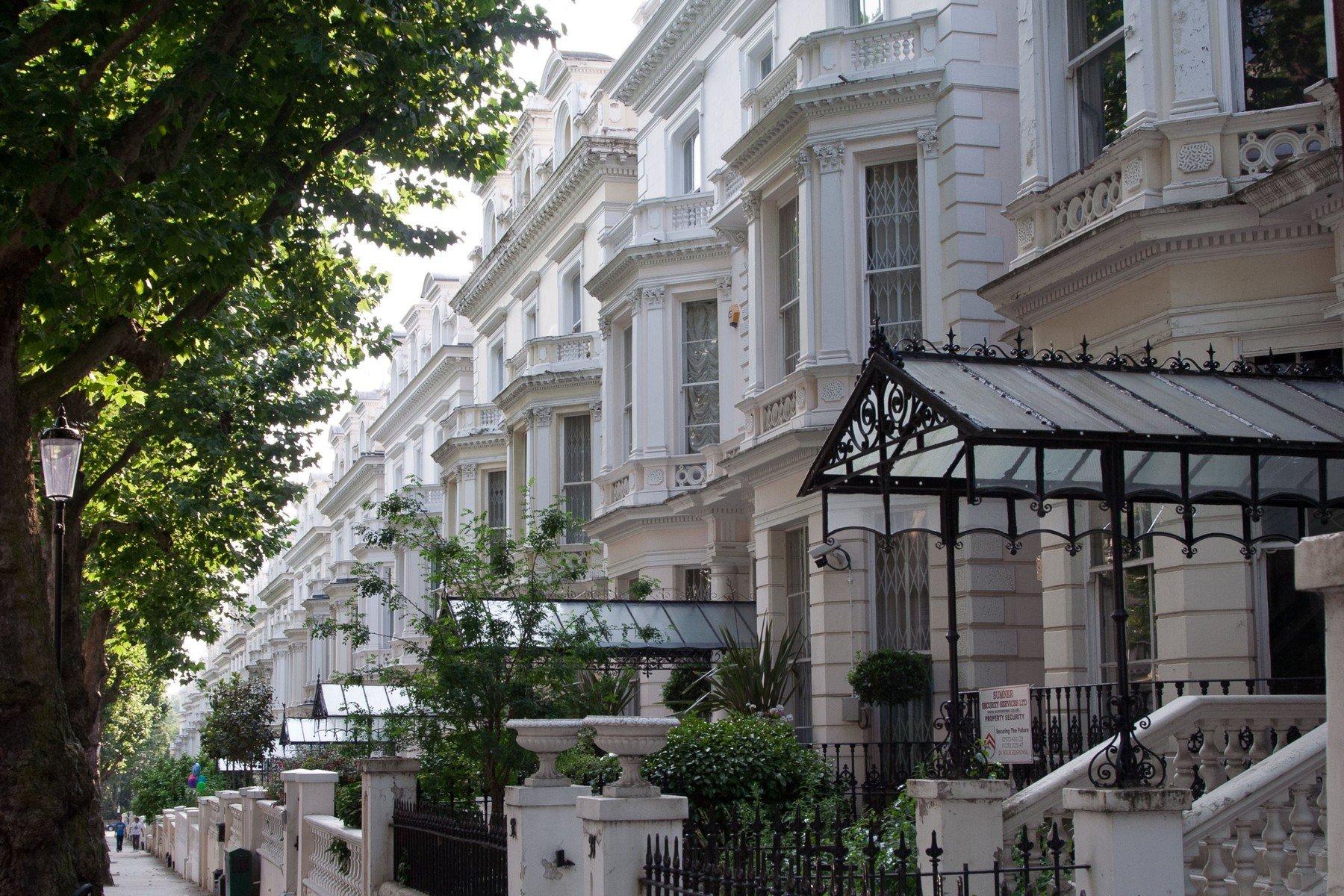 Ilustracija, stanovi u Londonu