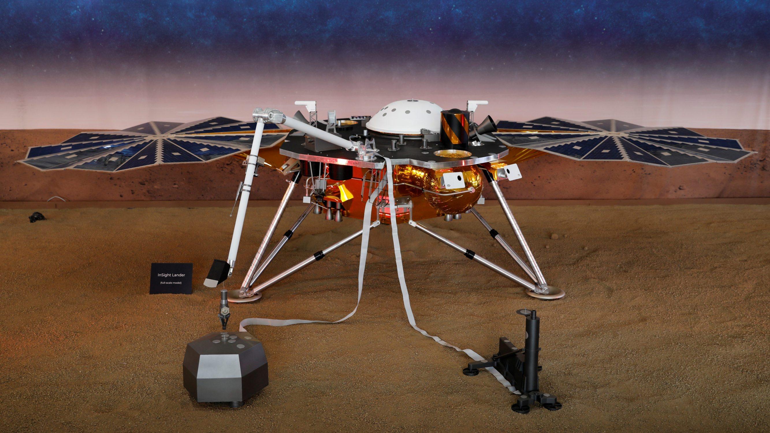 Insight, prva robotksa letjelica posebno dizajnirana za proučavanje duboke unutrašnjosti planeta